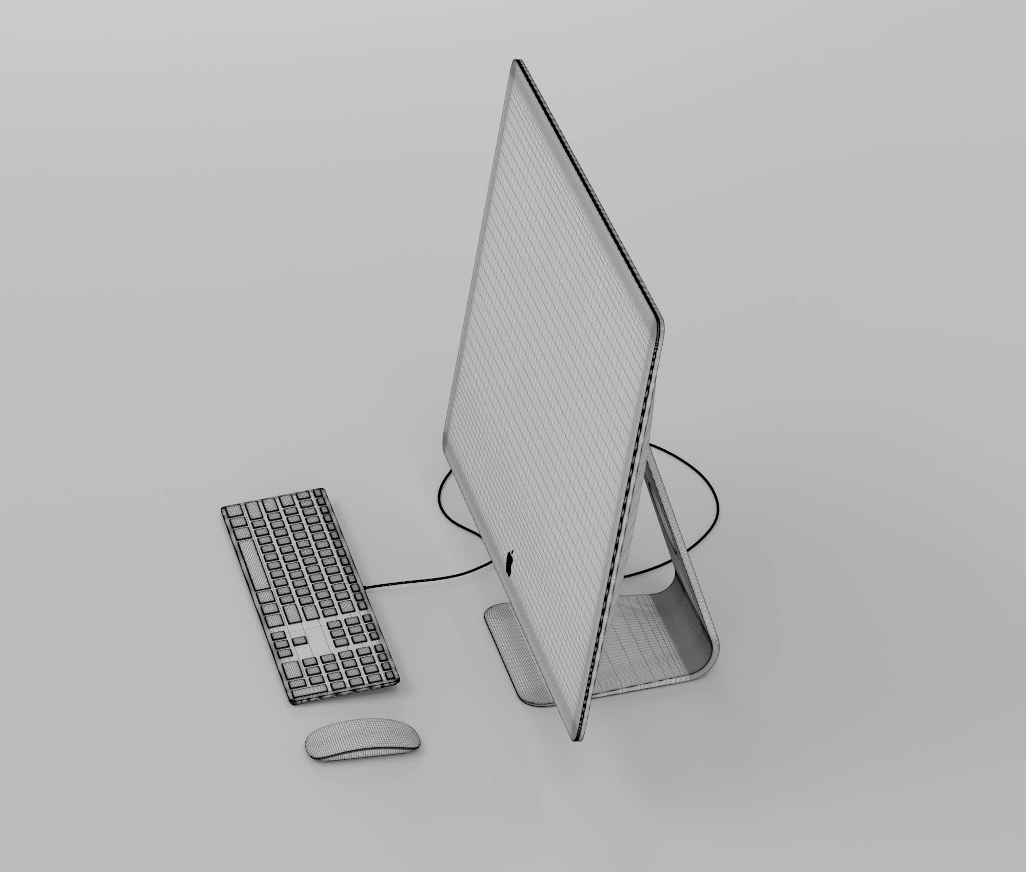 Apple iMac Pro 3D Model 3
