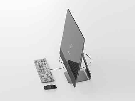 Apple iMac Pro 3D Model