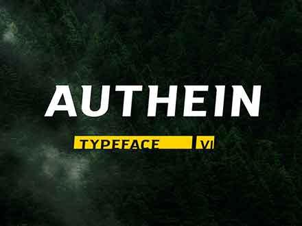 Authein Font