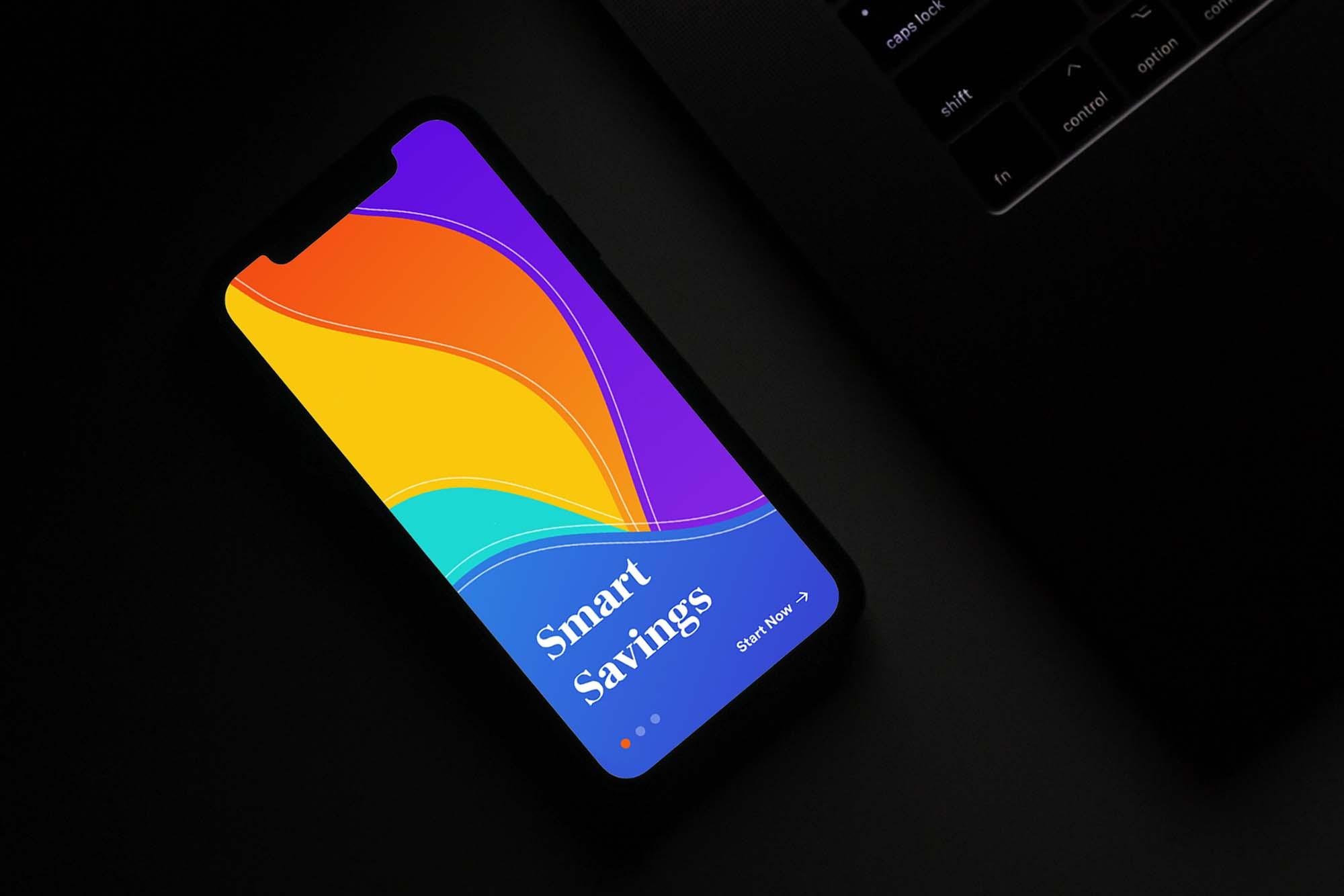 Bank App Concept Template 2