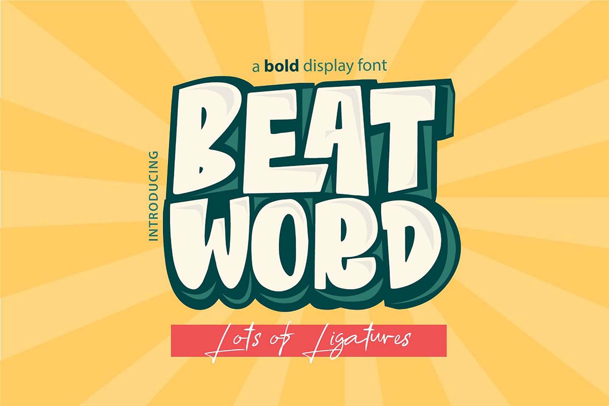 Beat Word Comic Font