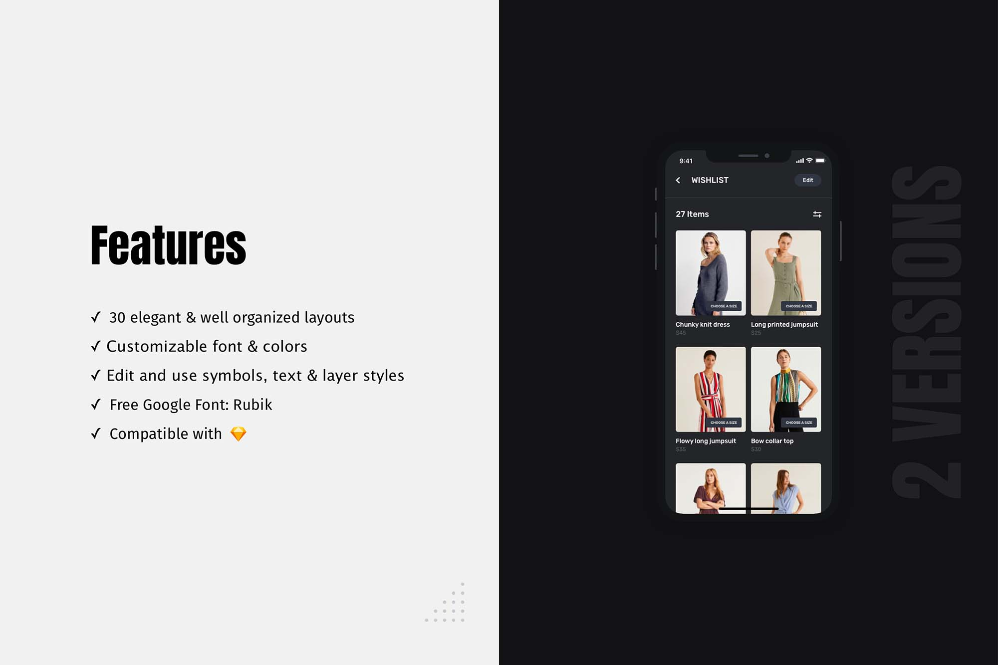 Blume Shopping App UI Kit Template 4