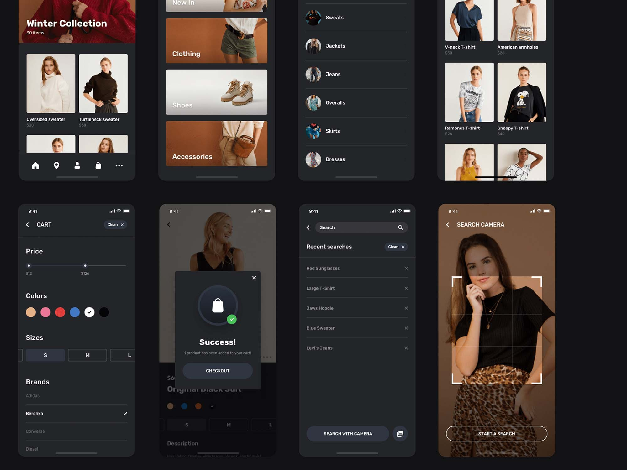 Blume Shopping App UI Kit Template 8