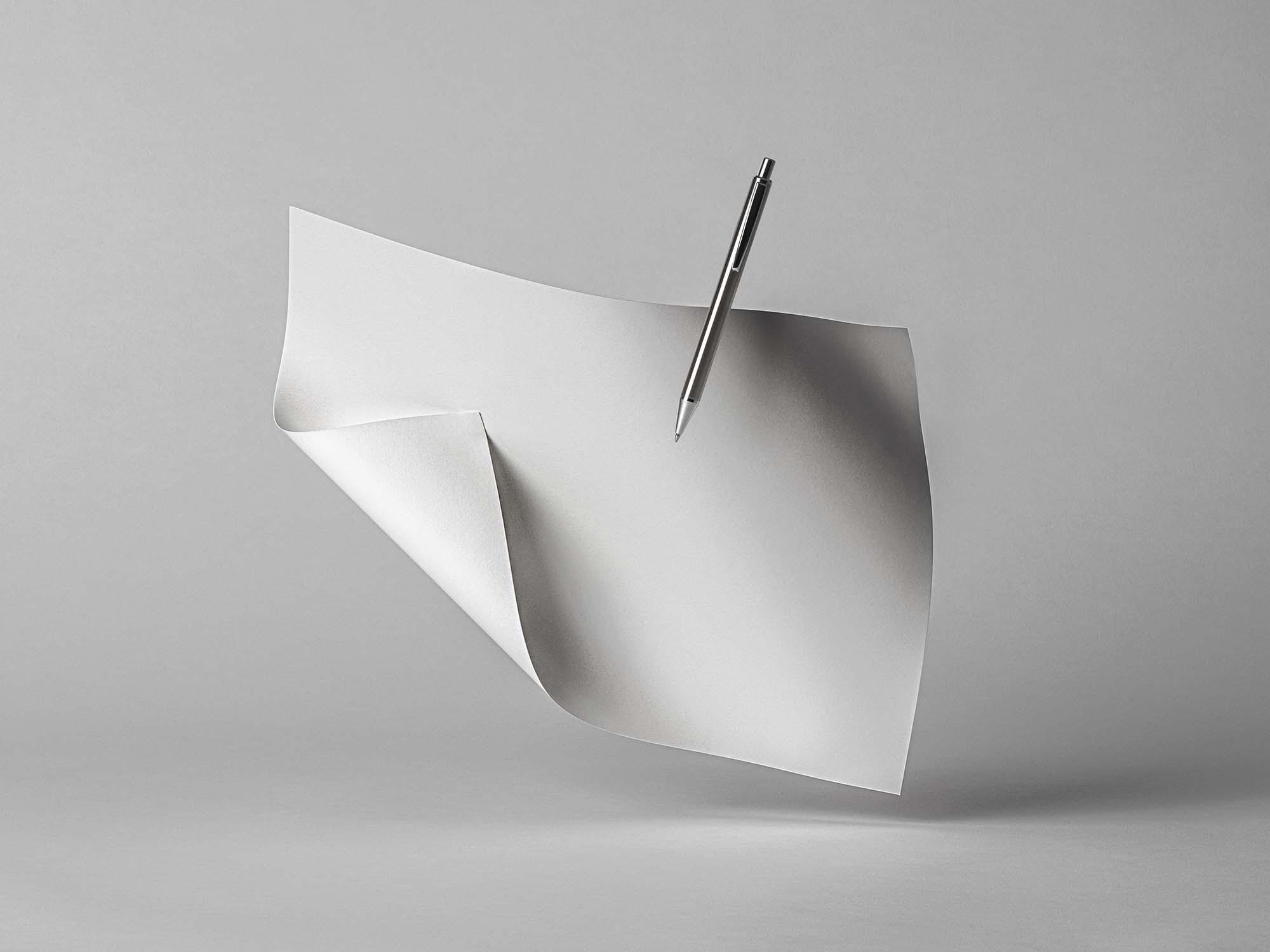 Brand Landscape Paper Mockup 2