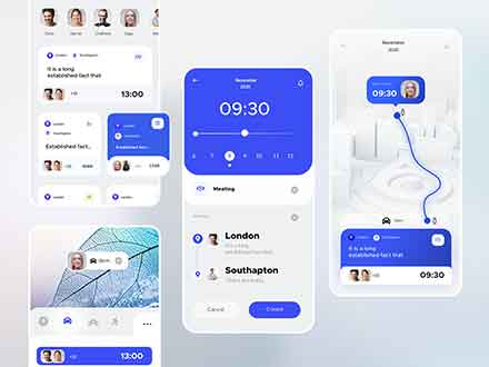Calendar Appointment Ui Kit
