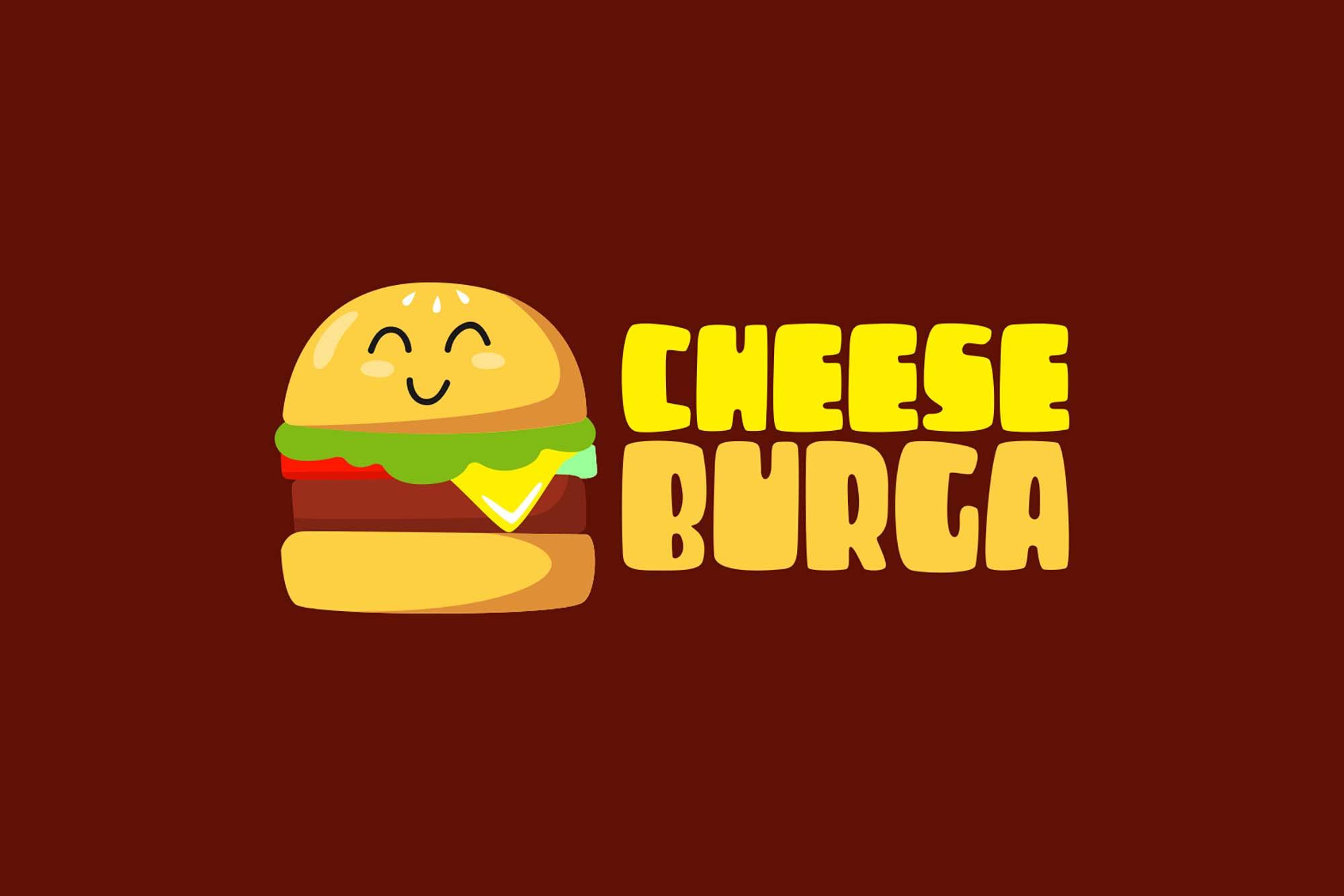 CheeseBurga Chubby Cute Font 4