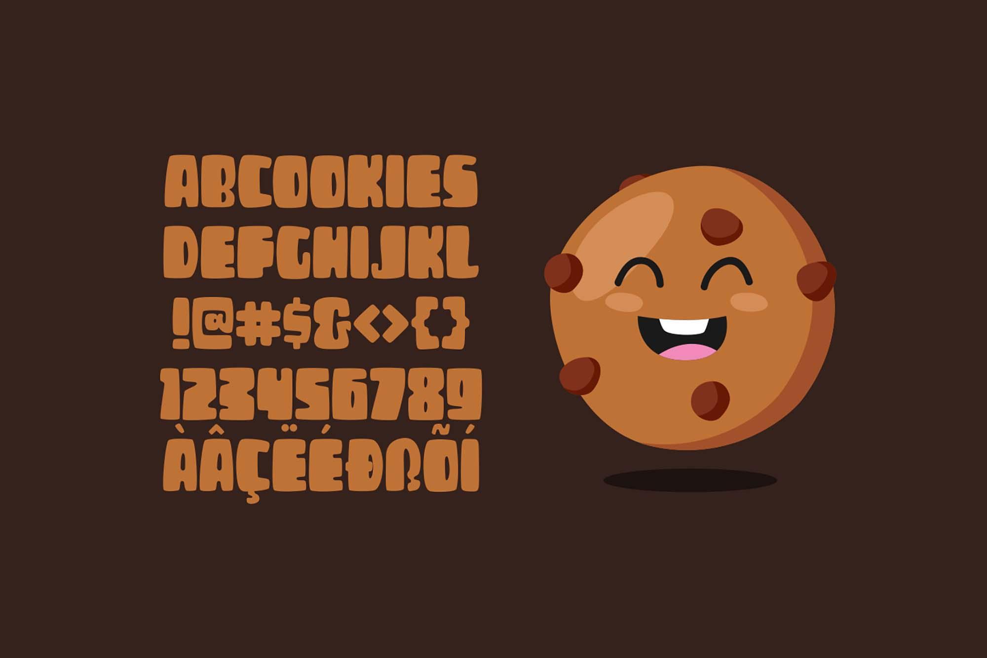 CheeseBurga Chubby Cute Font 5
