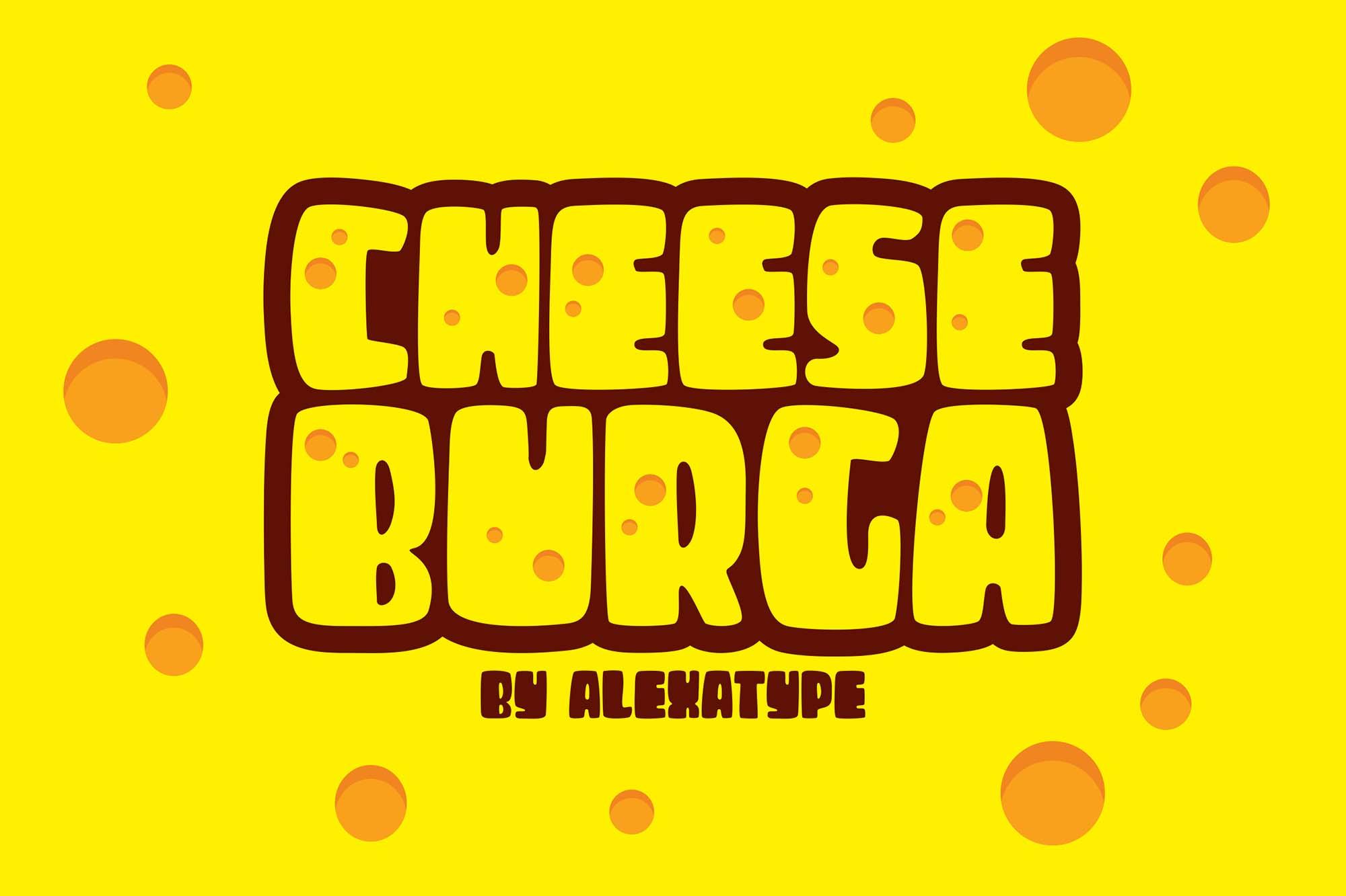 CheeseBurga Chubby Cute Font