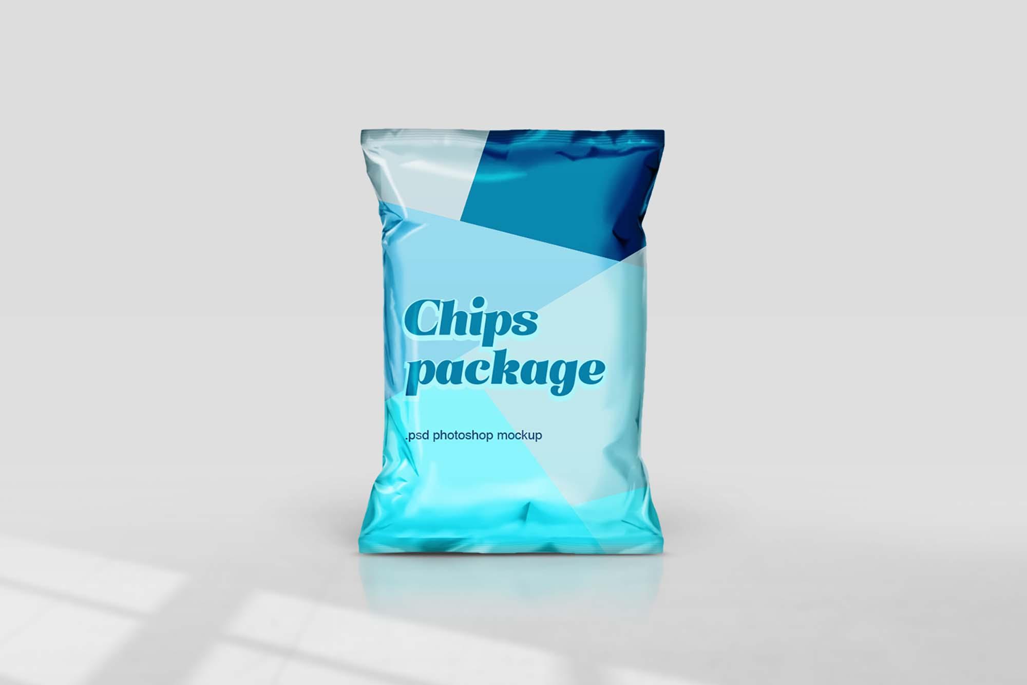 Chips Packaging Mockup