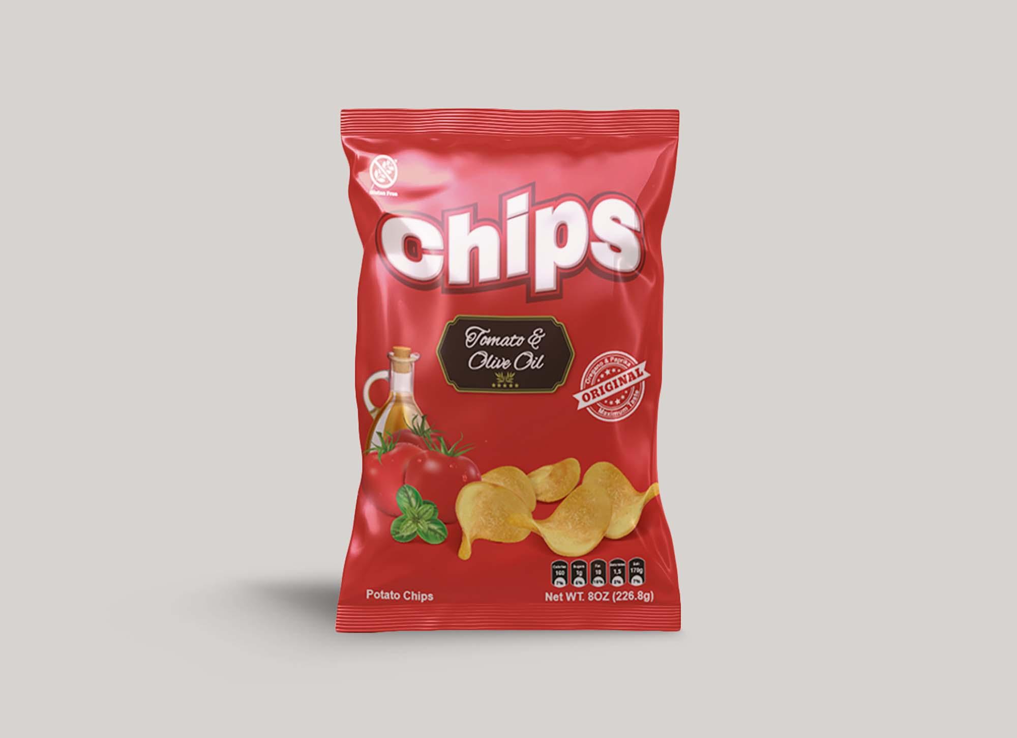 Chips Packet Mockup