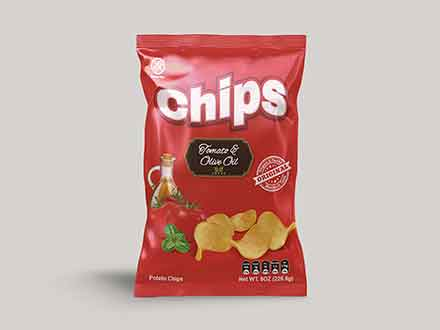 Chips Packet Mockup