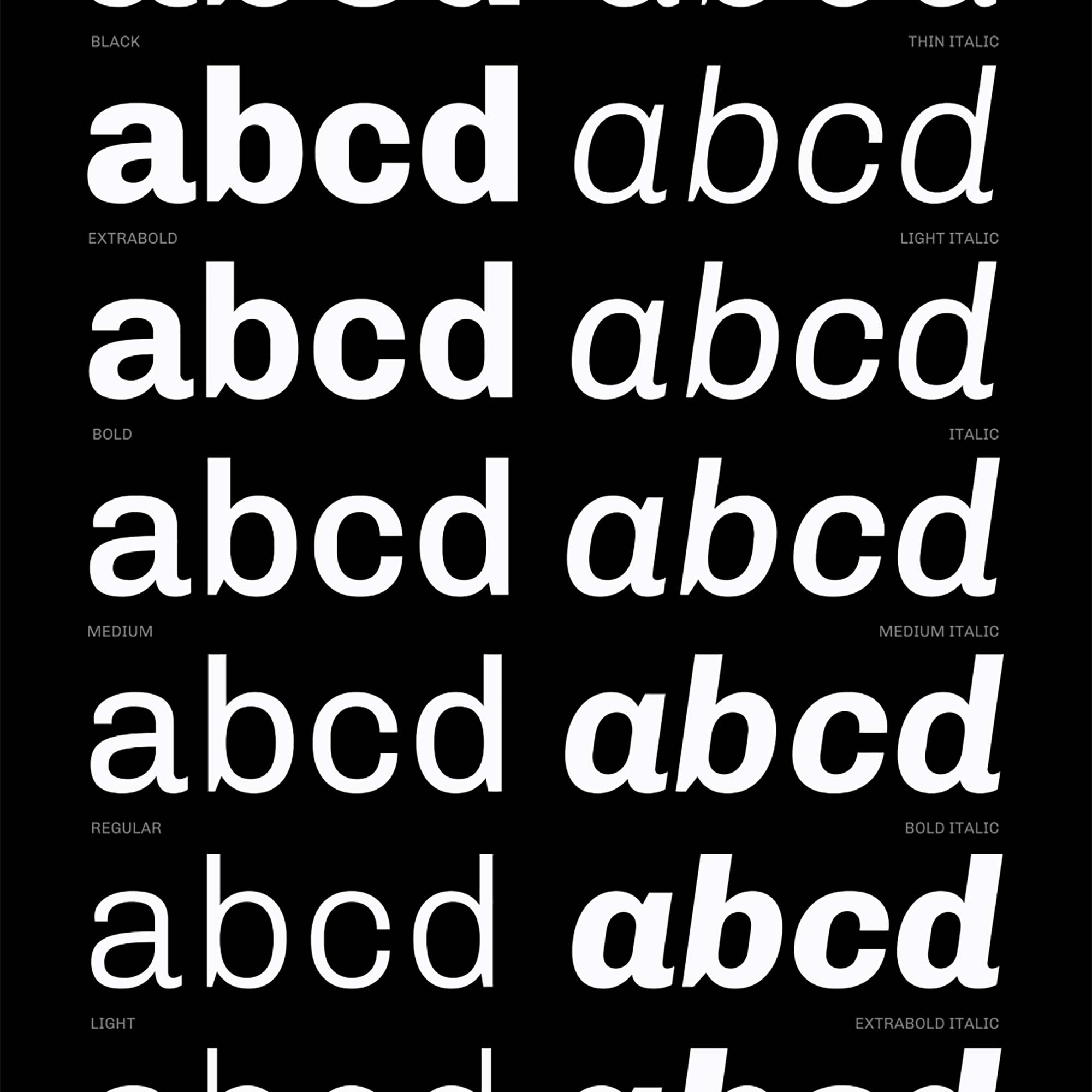 Chivo Sans Serif Font 5