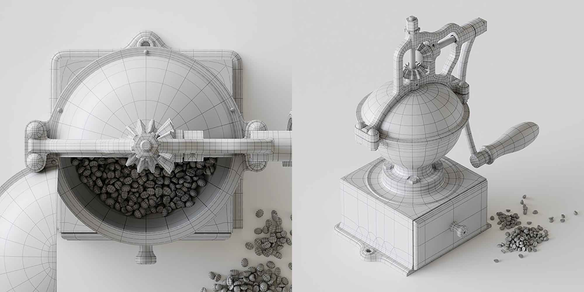 Coffee Grinder 3D Model 4