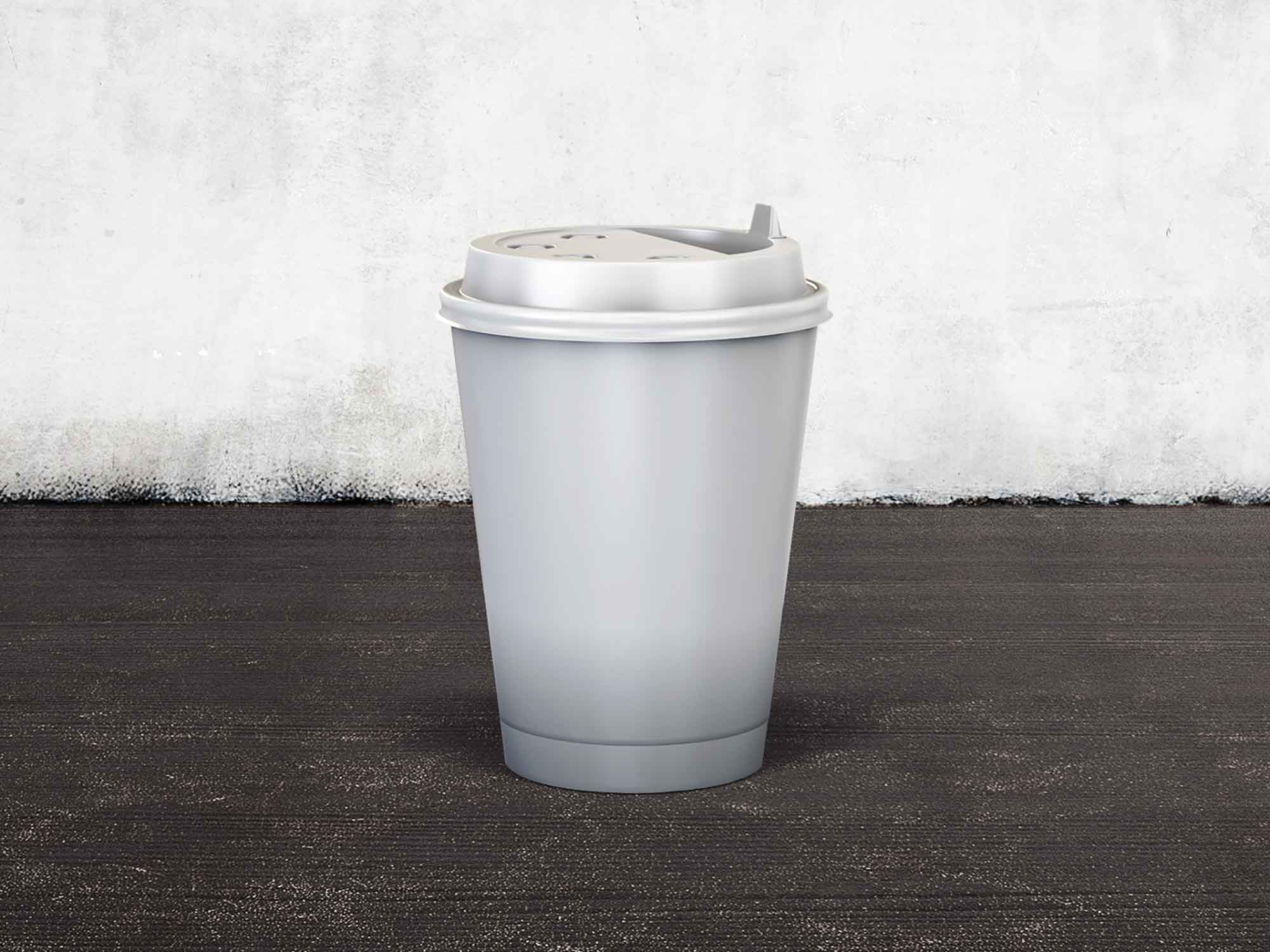 Coffee Paper Cup Mockup 2