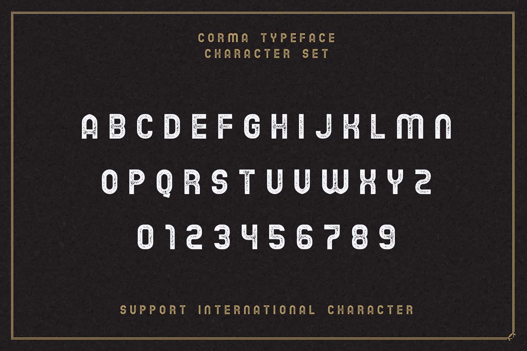 Corma Vintage Font 5