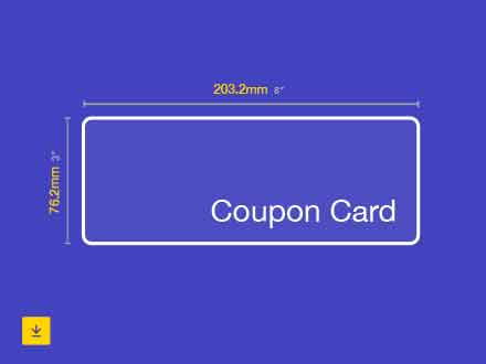 Coupon Card Template