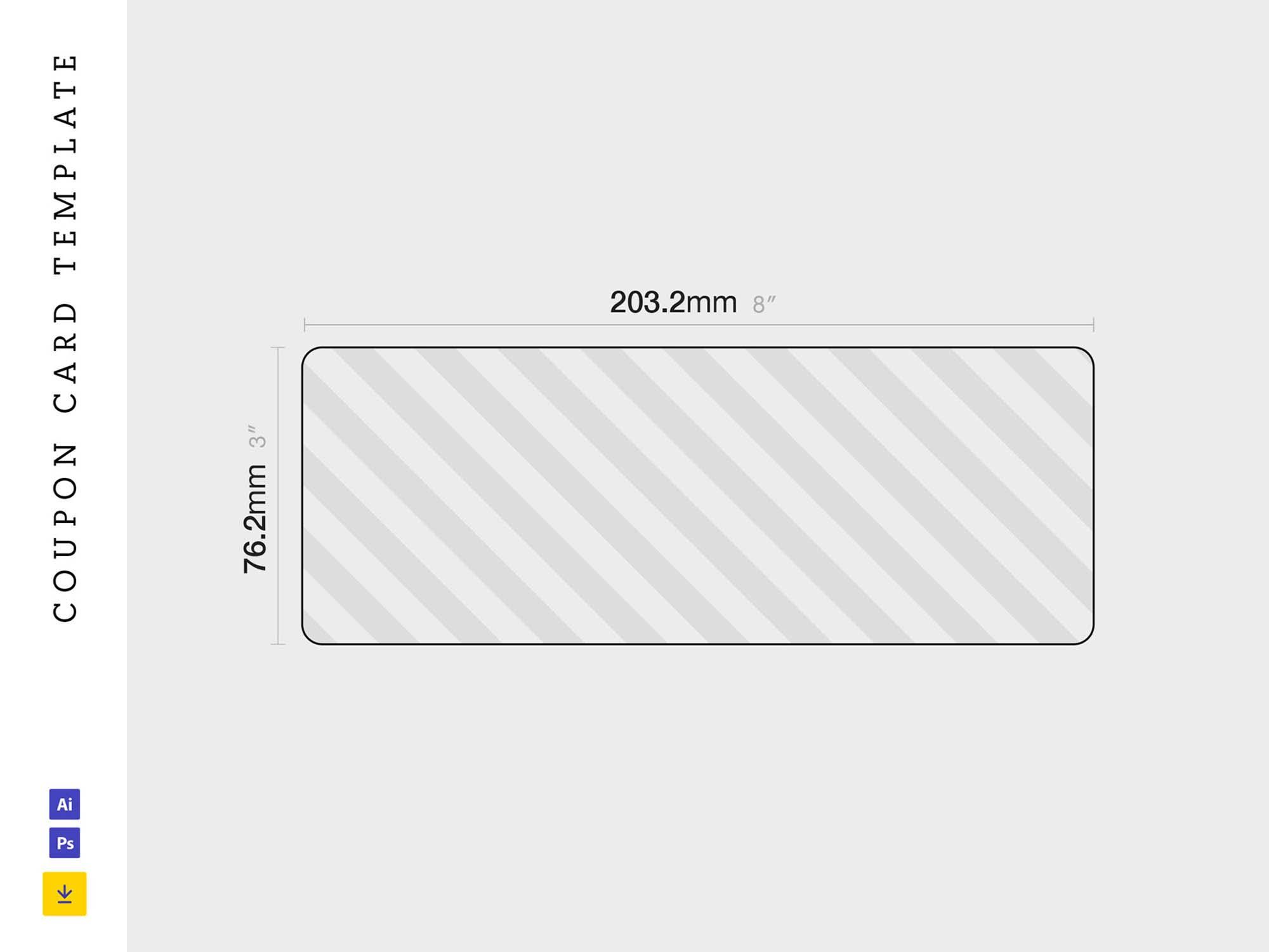 Coupon Card Template 2