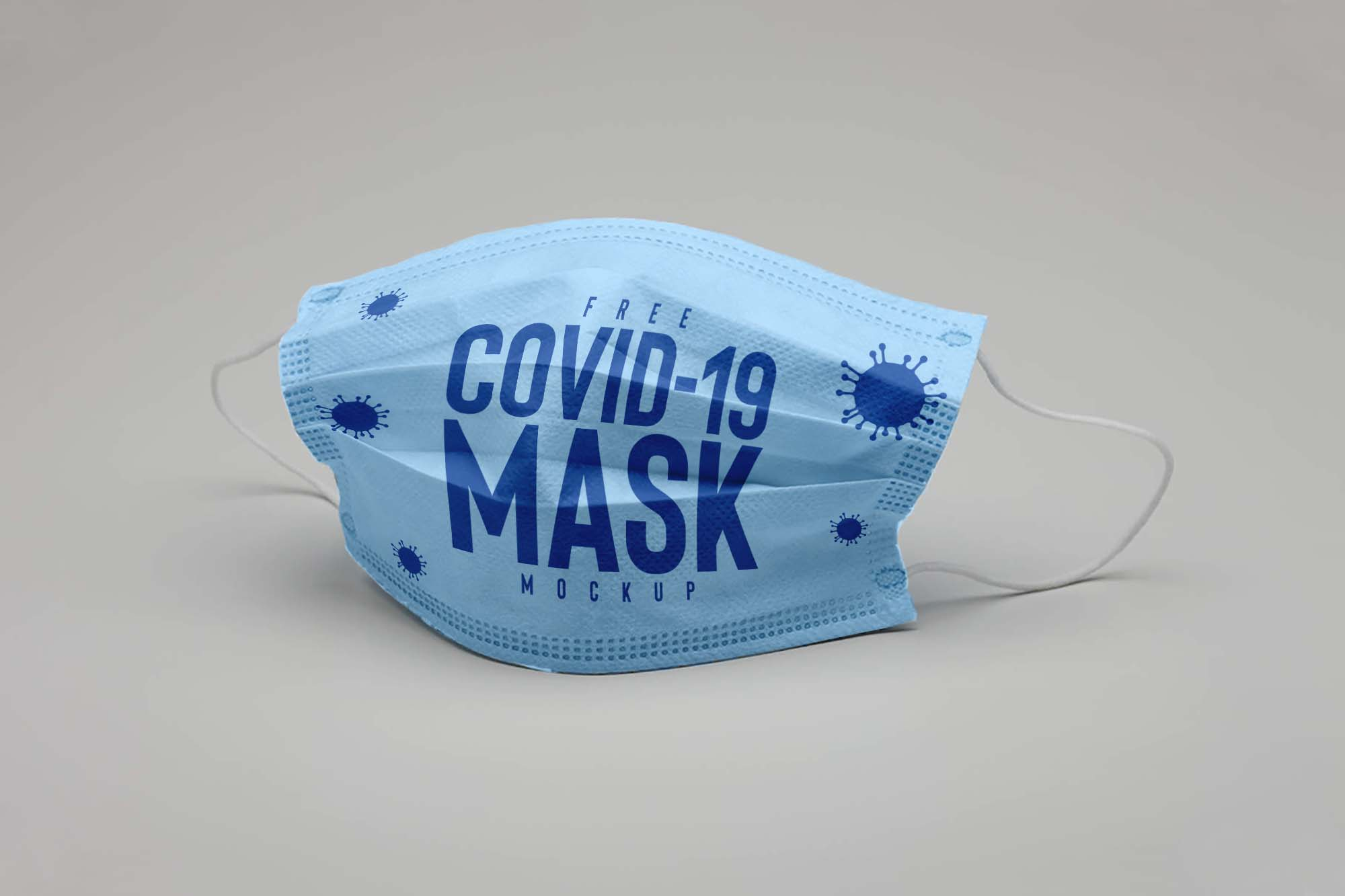 Covid-19 Face Mask Mockup