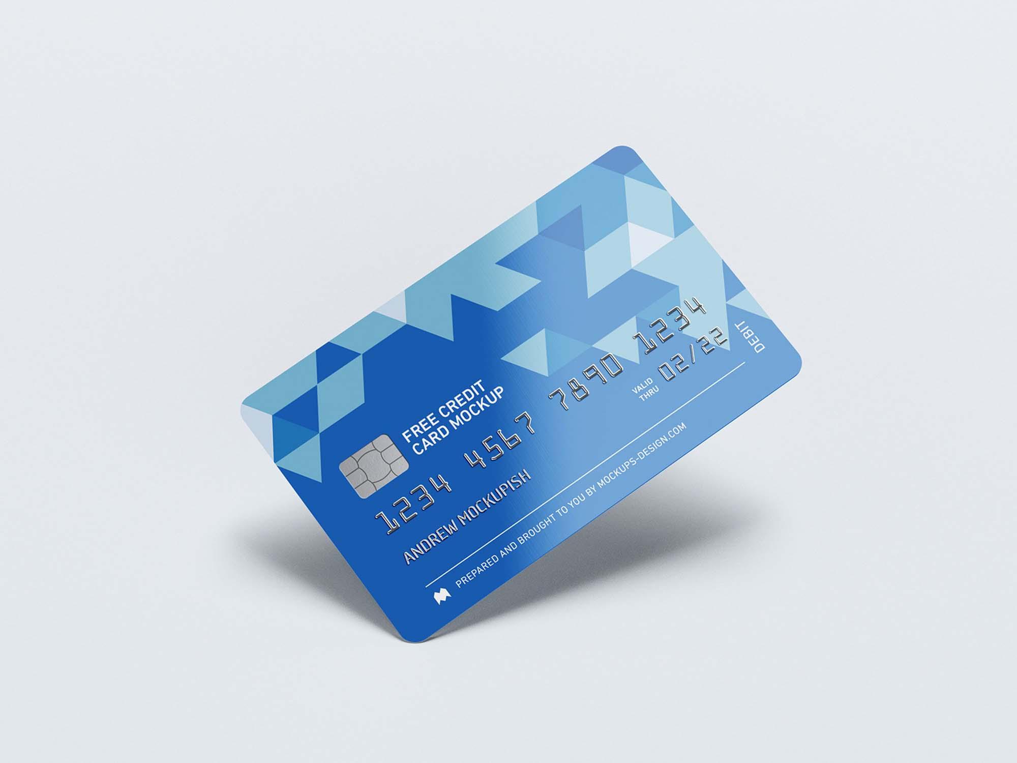 Credit Card Mockups 1