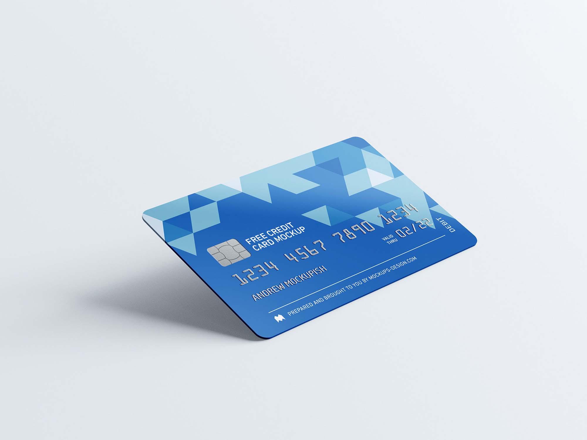 Credit Card Mockups 2