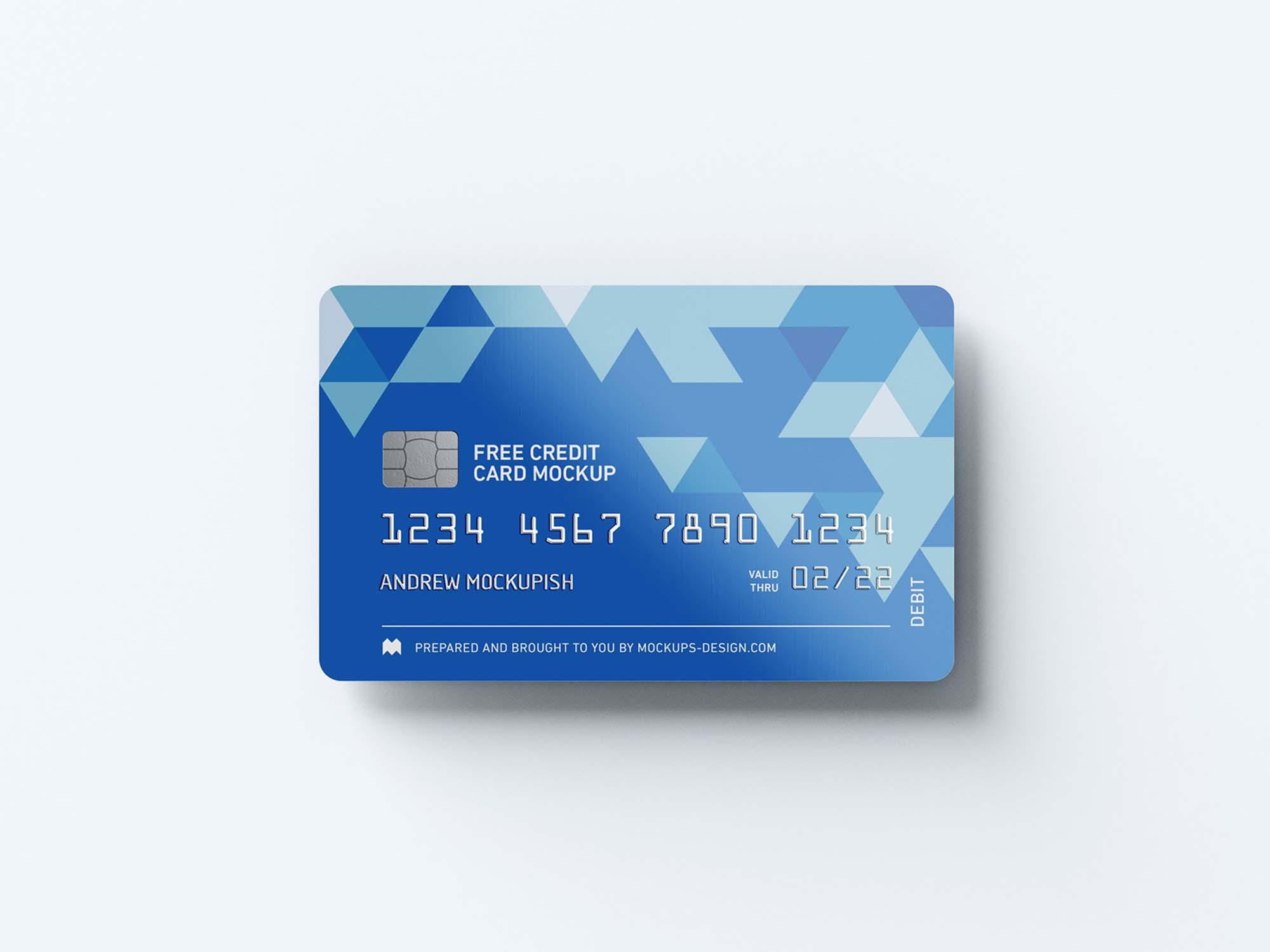 Credit Card Mockups 3