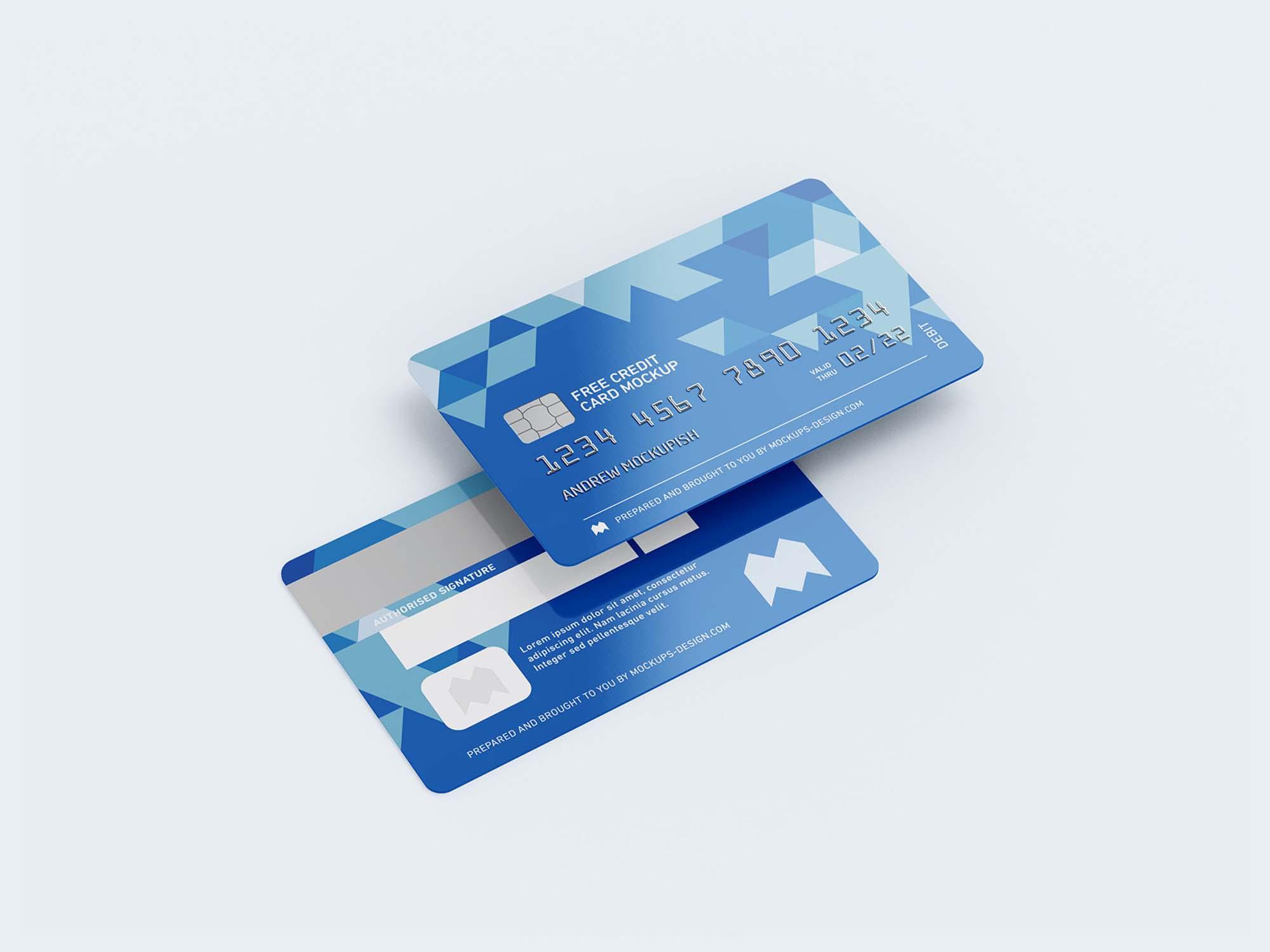 Credit Card Mockups