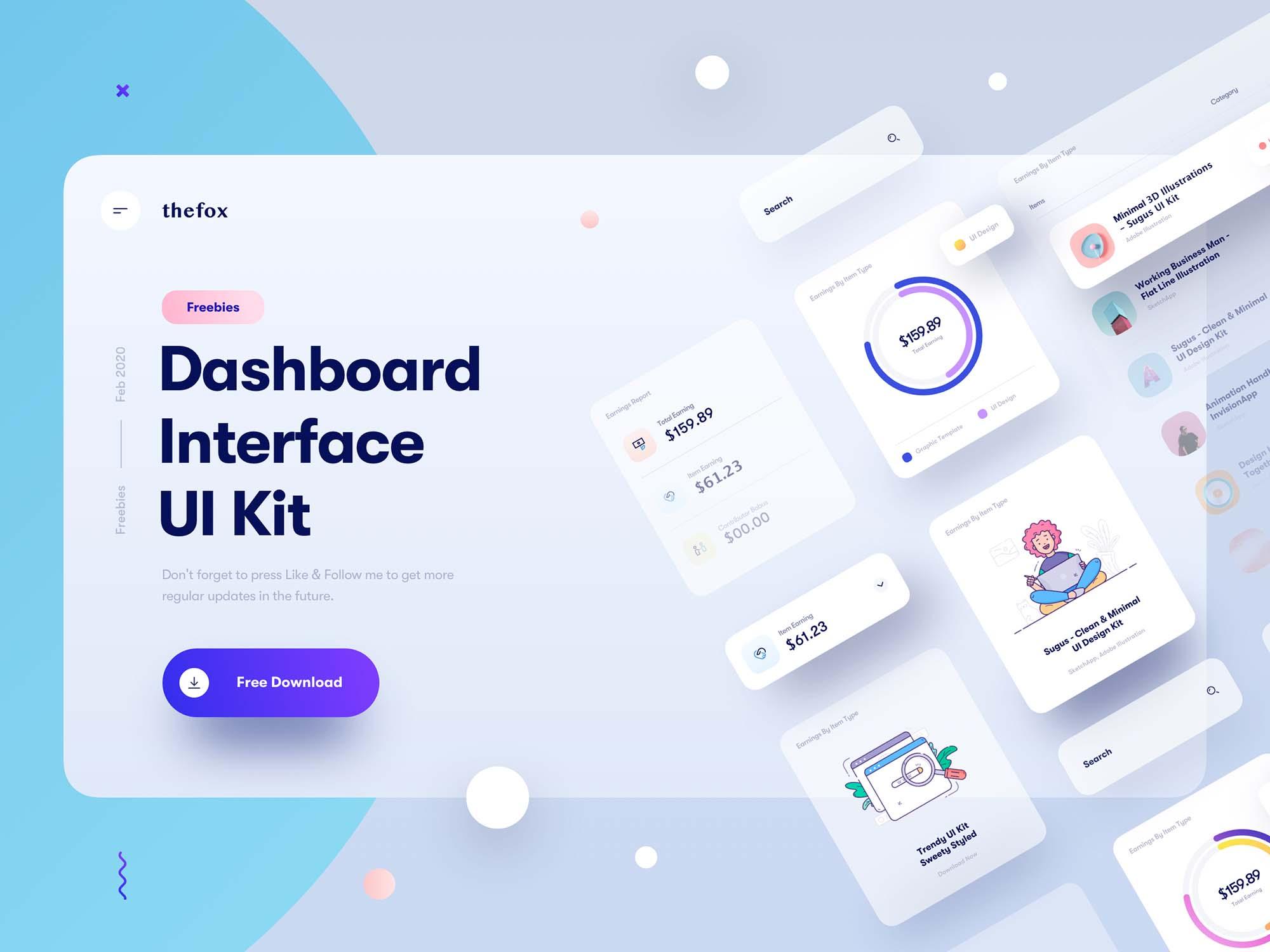 Dashboard Interface UI Kit