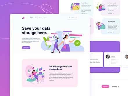Data Warehouse Website Template