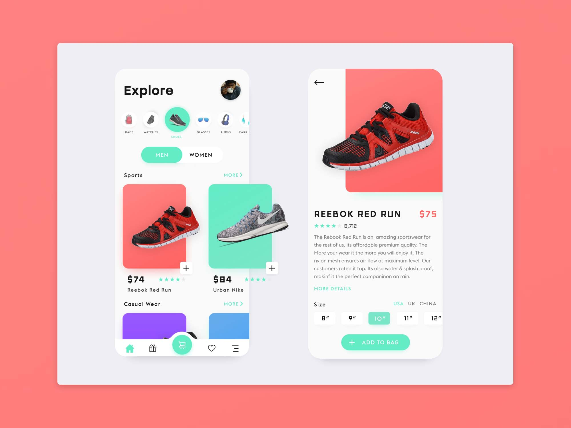 E-Commerce App Template 2