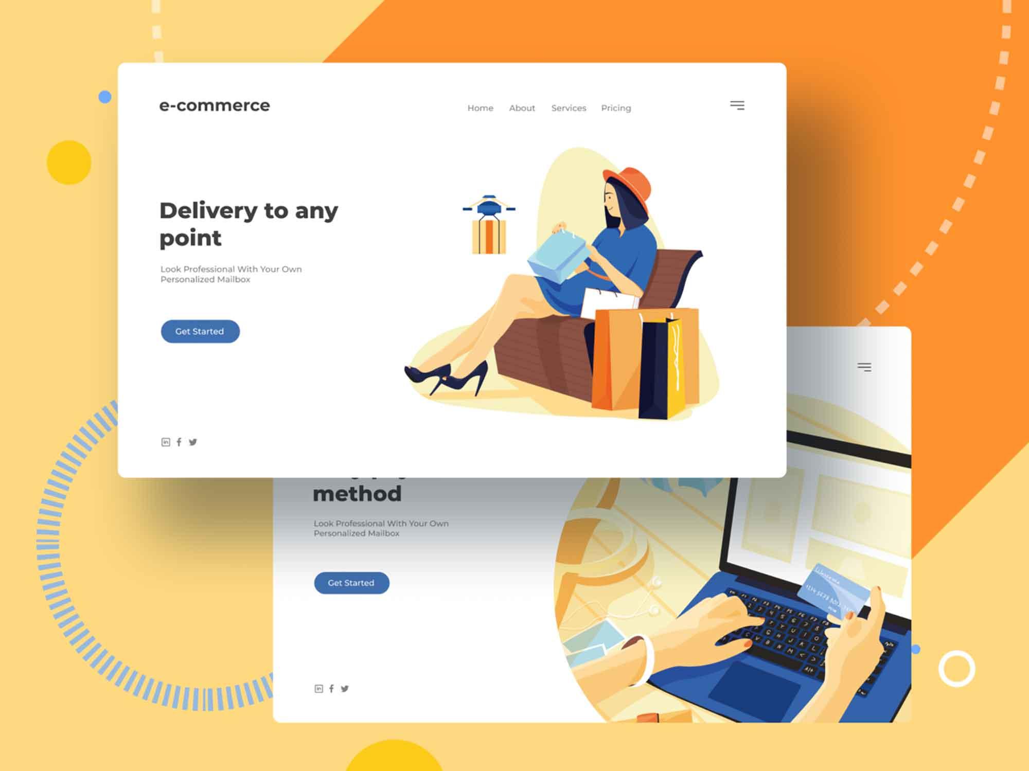 E-commerce Vector Illustrations 2