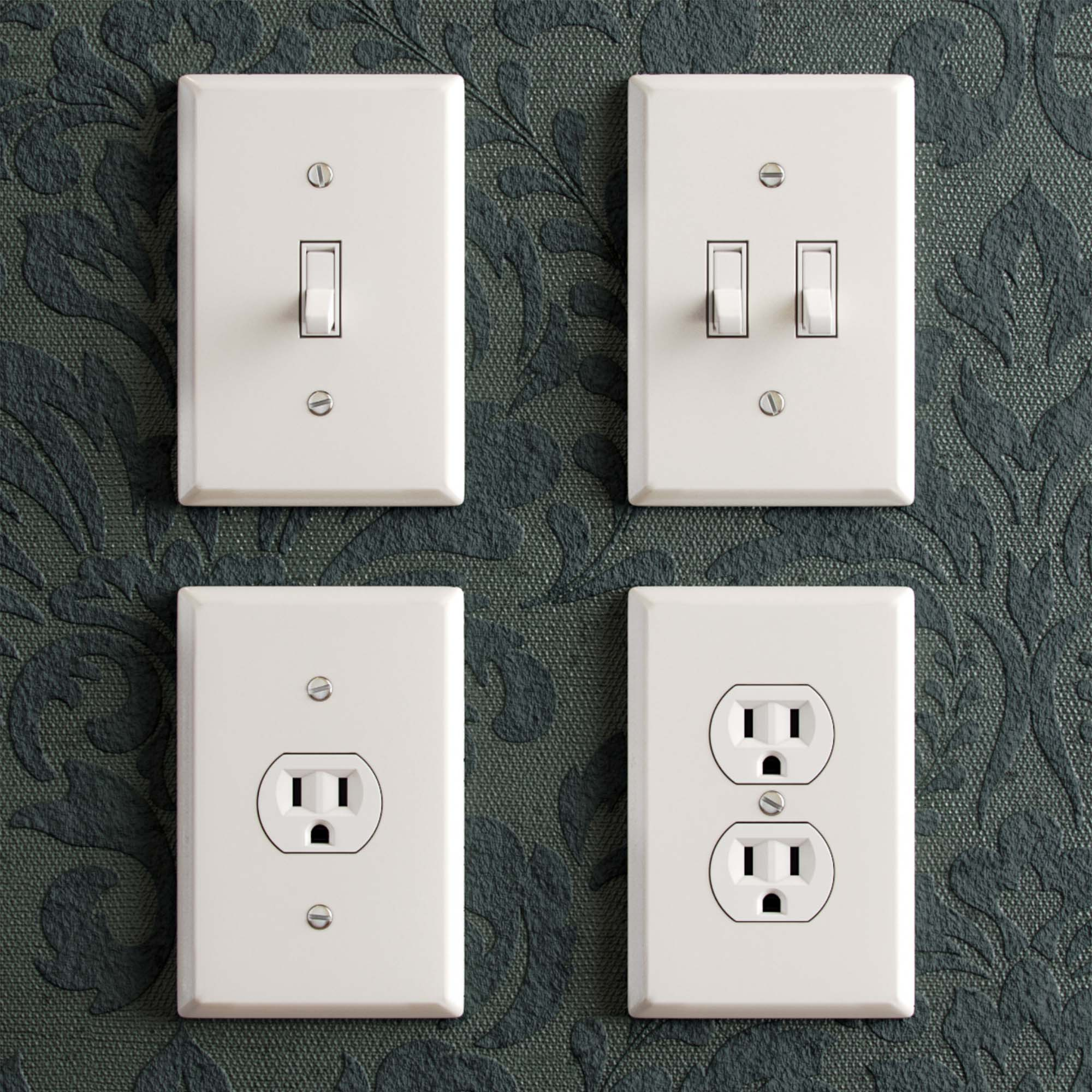 Electrical Light Switches 3D Models