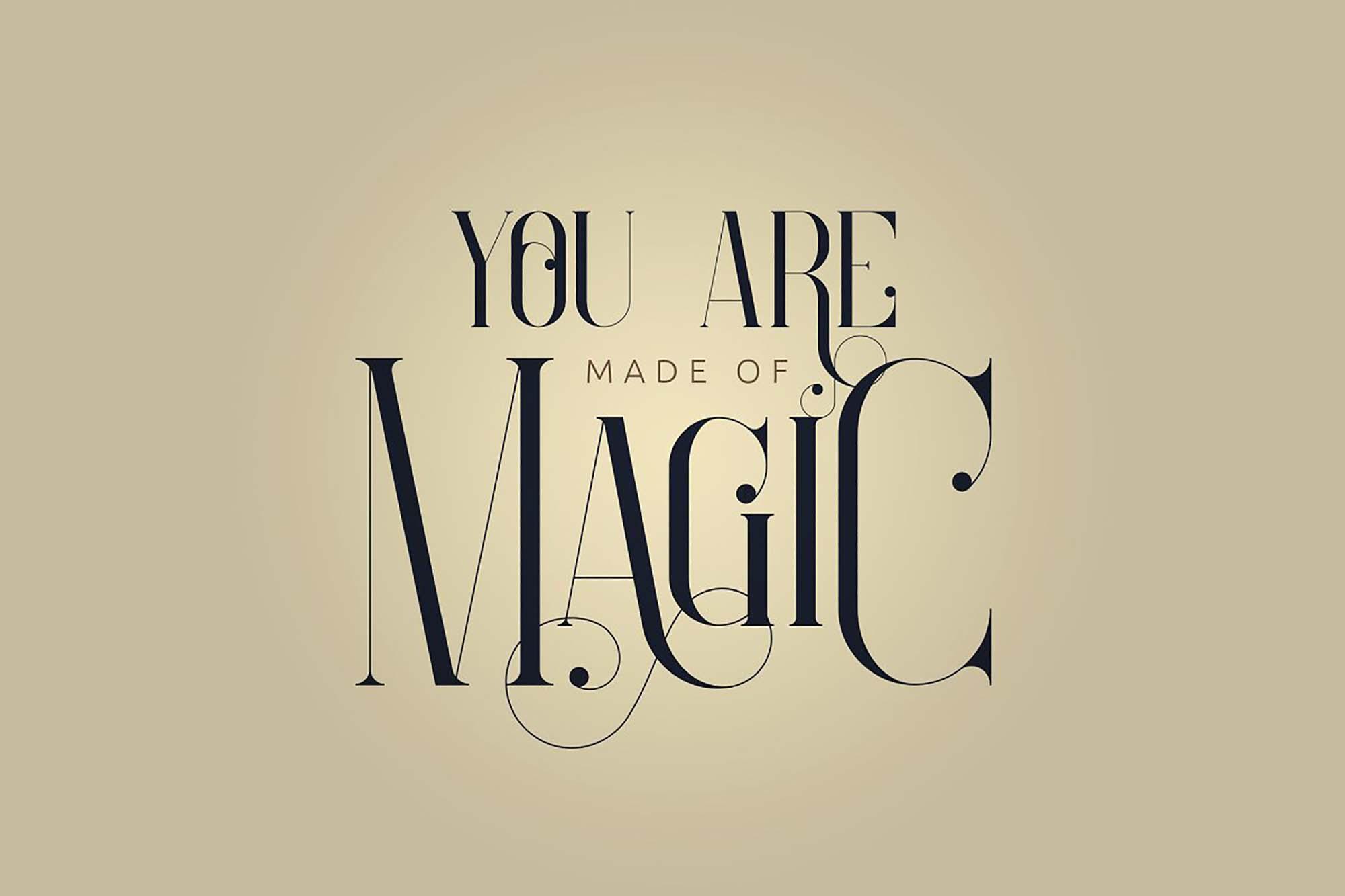 Enchants Magical Serif Font 4