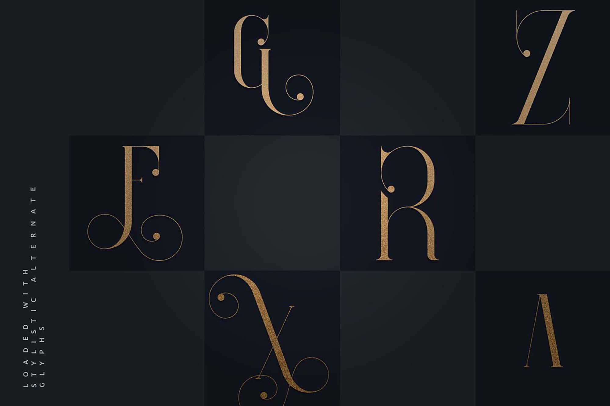 Enchants Magical Serif Font 6