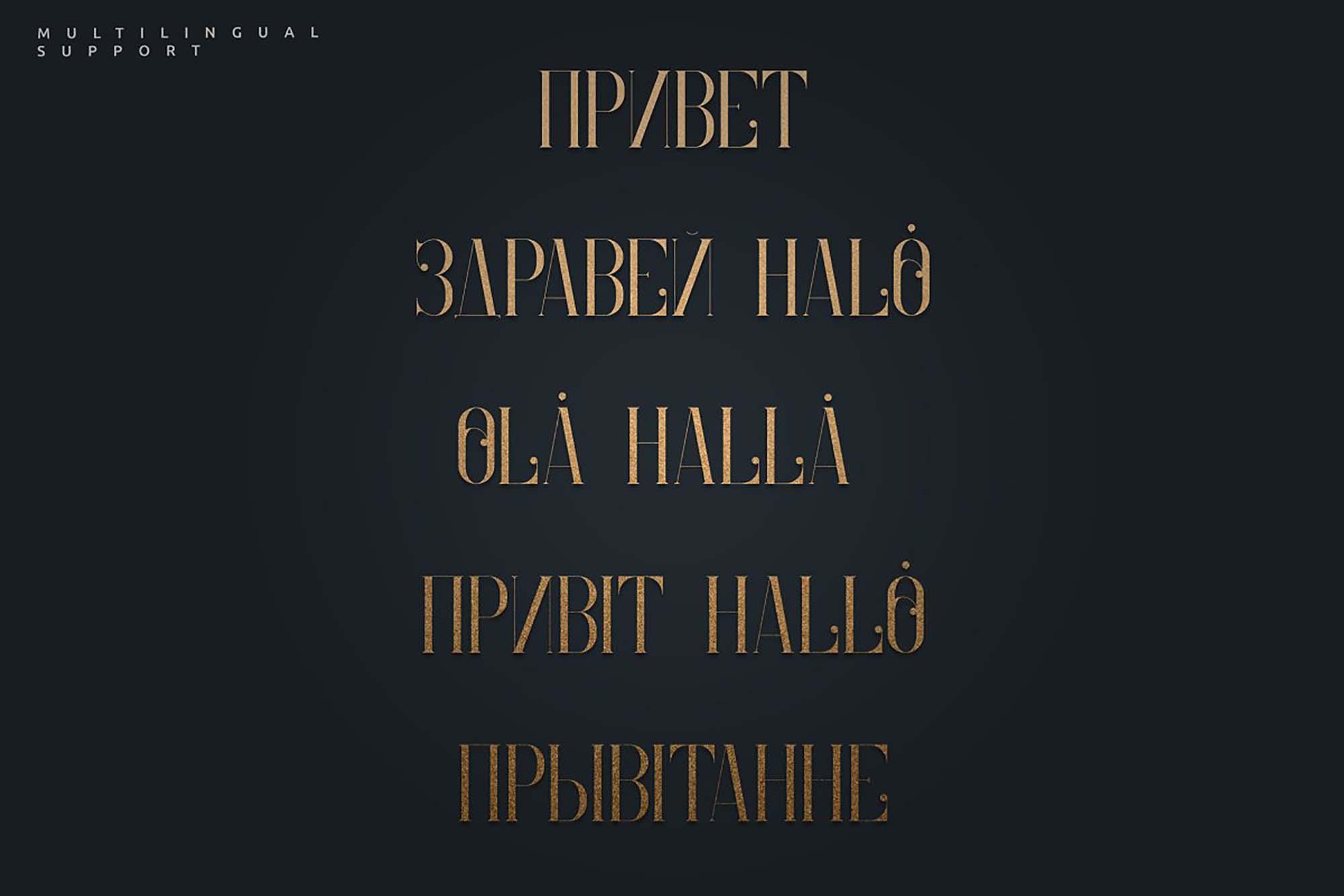 Enchants Magical Serif Font 8