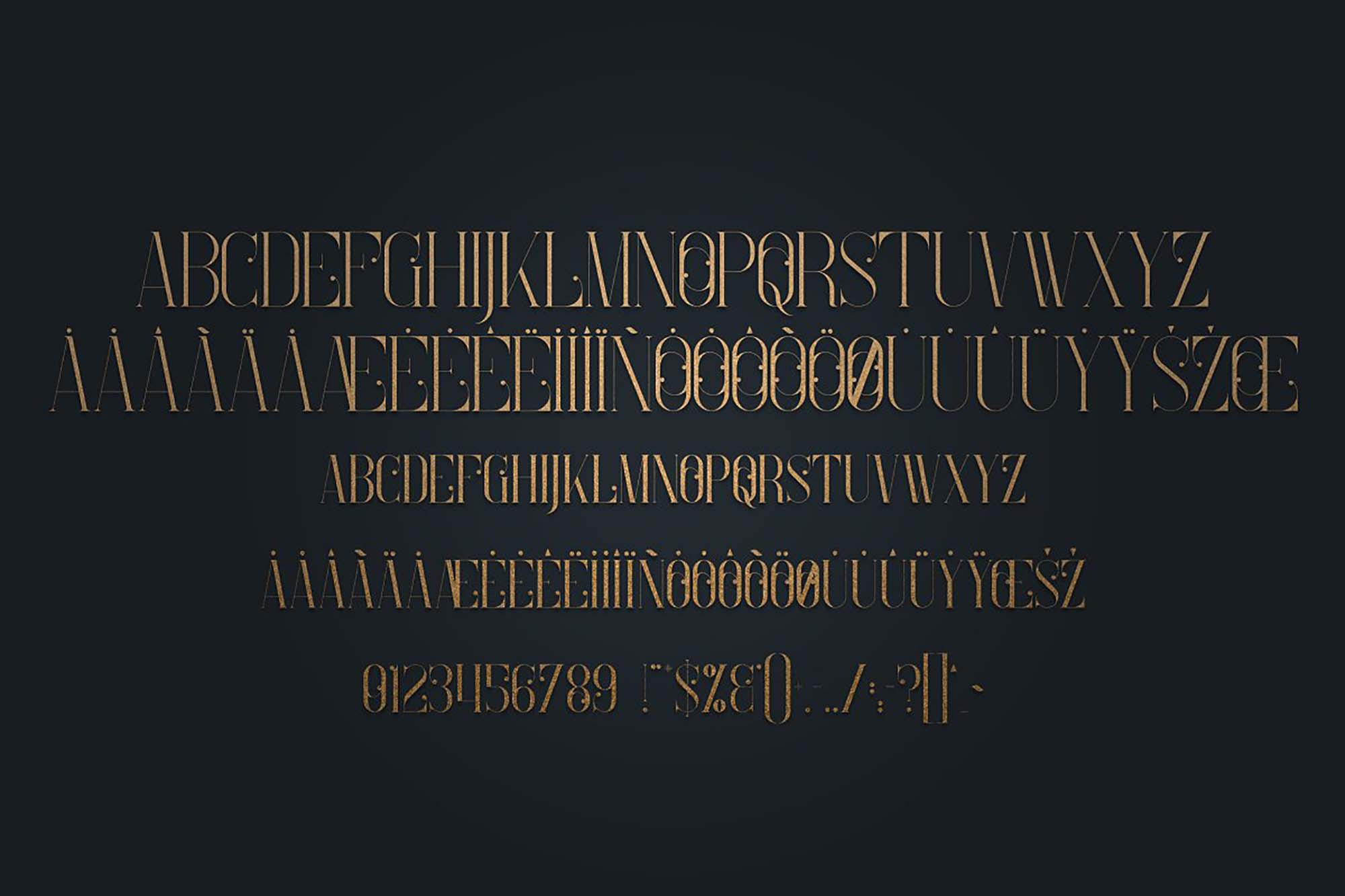 Enchants Magical Serif Font 9