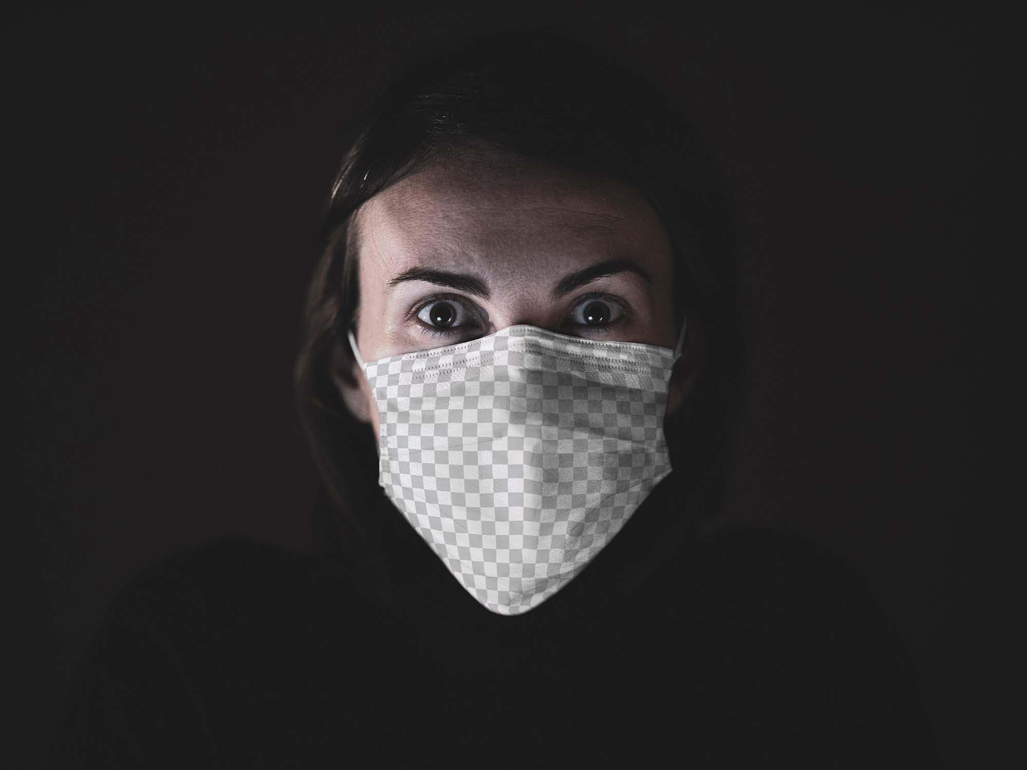 Face Mask Mockup 2