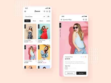 Fashion App Template