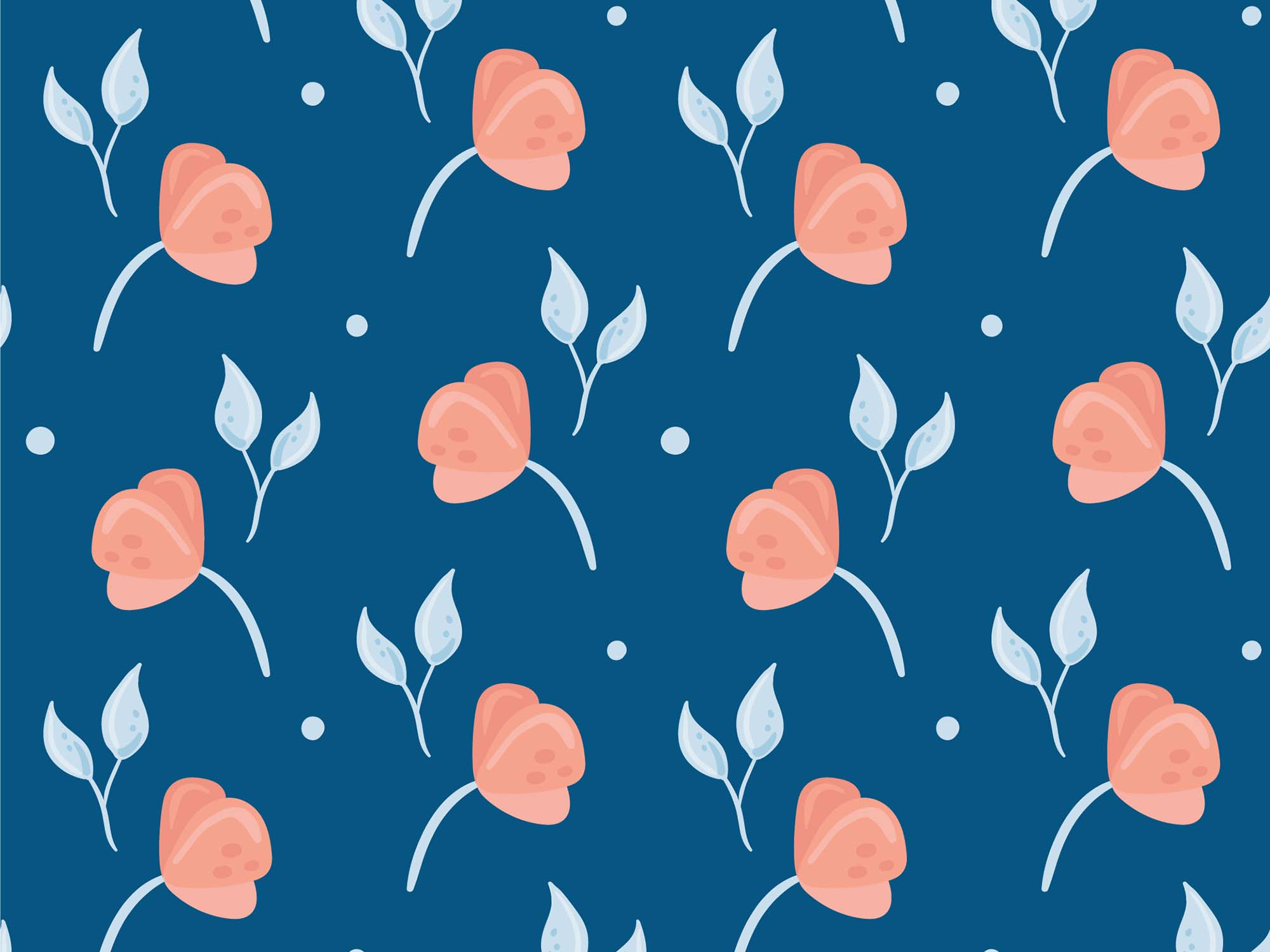 Floral Vector Patterns 1