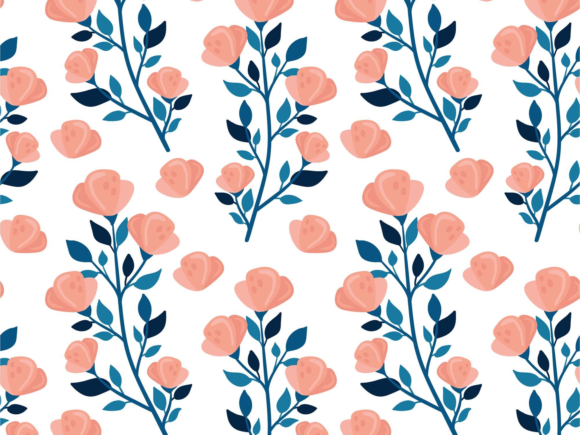 Floral Vector Patterns 2
