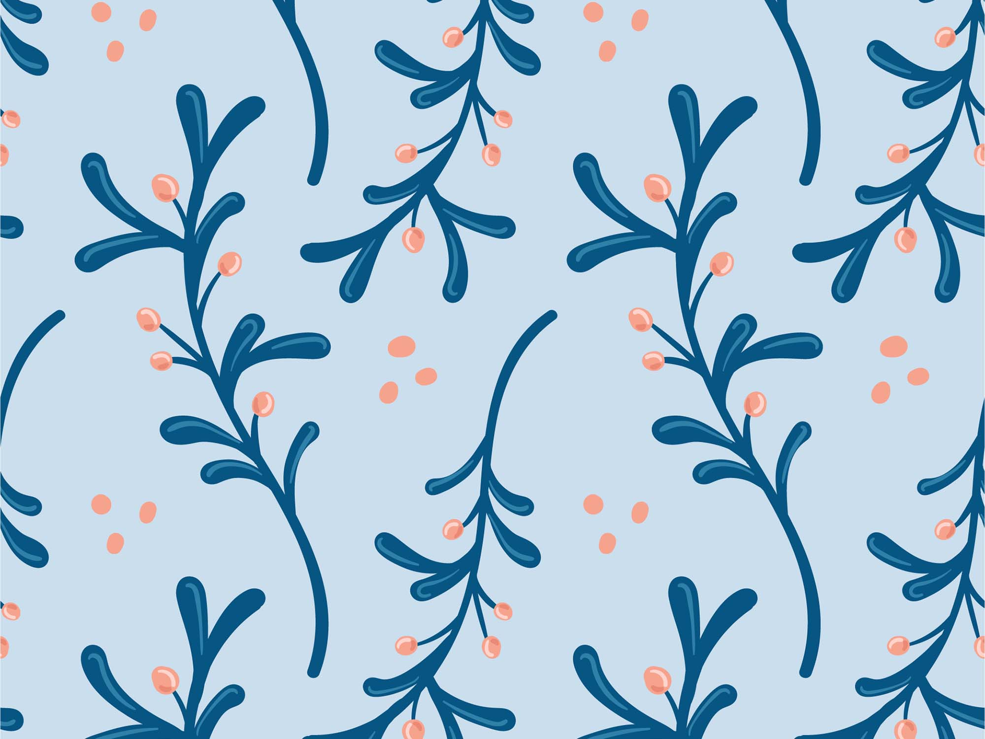 Floral Vector Patterns 8