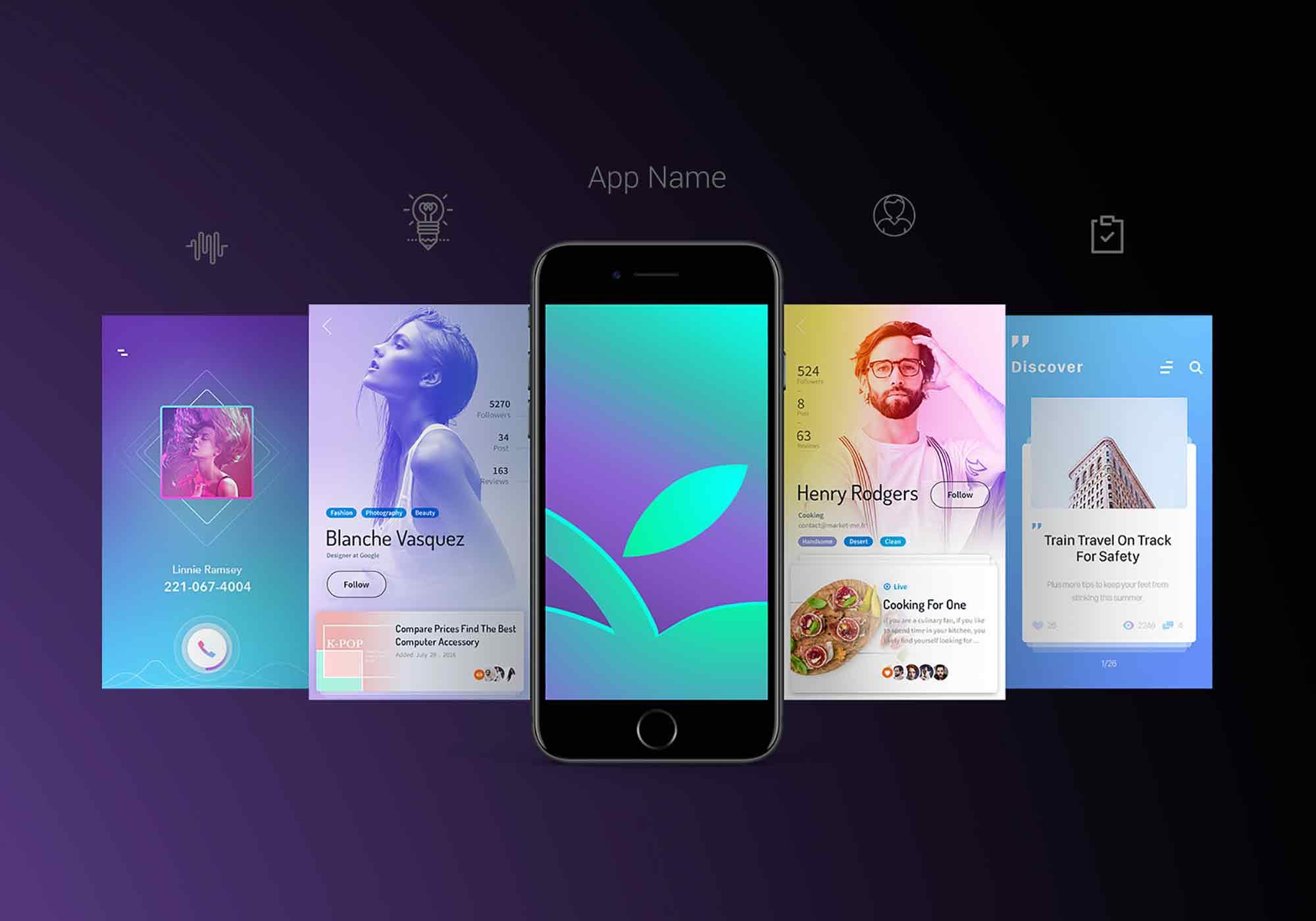 App Screen Mockup 2