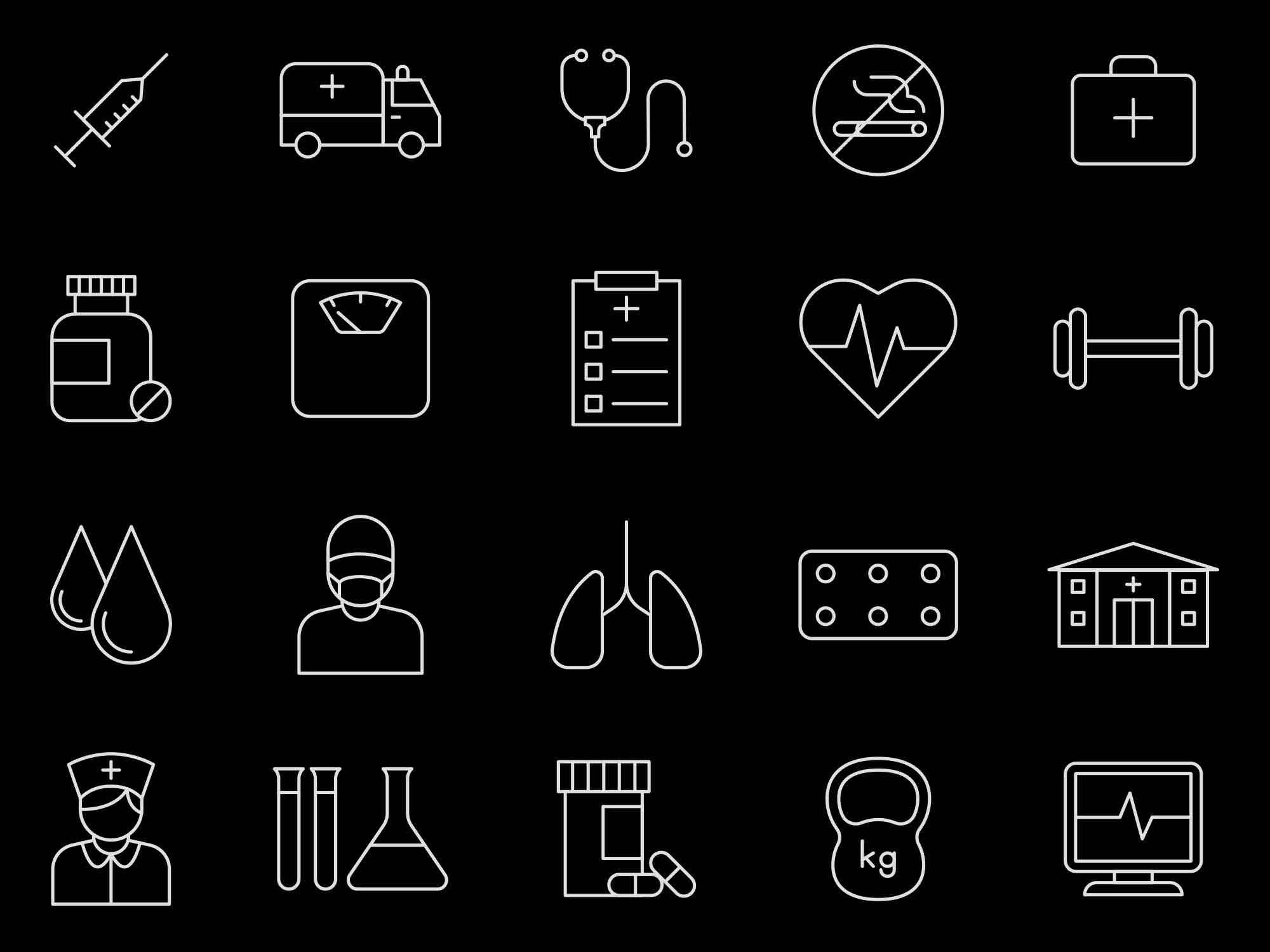 Health Vector Icons 2