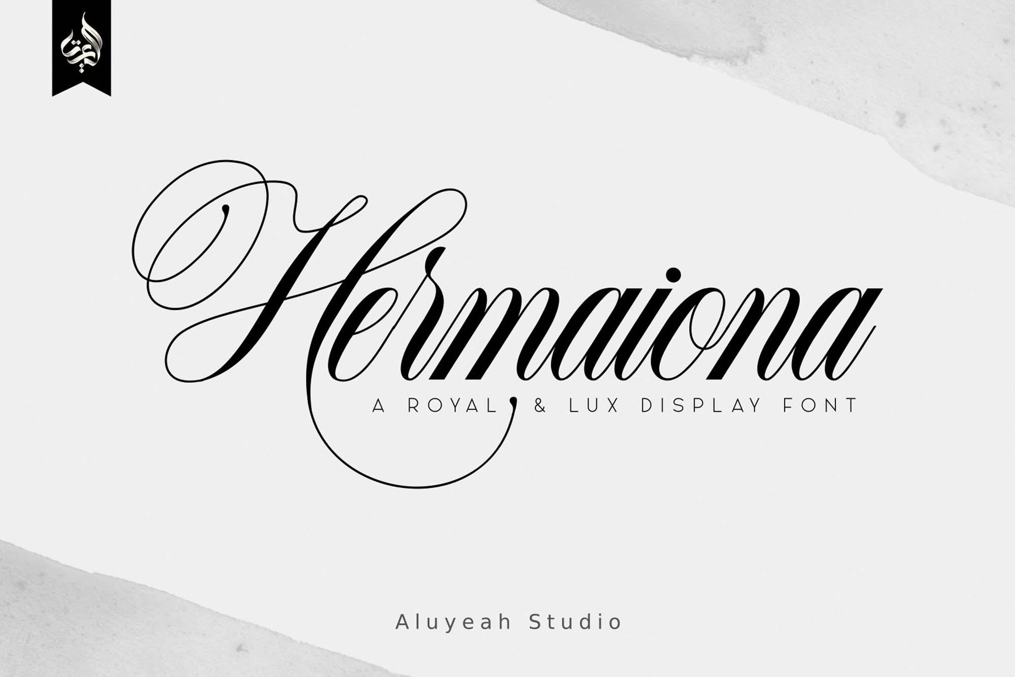 Hermaiona Royal Font