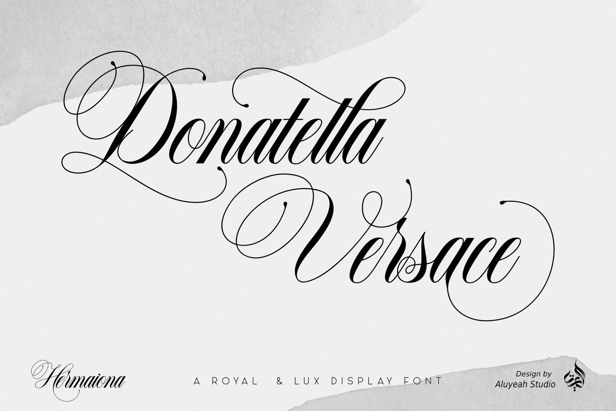 Hermaiona Royal Font 2