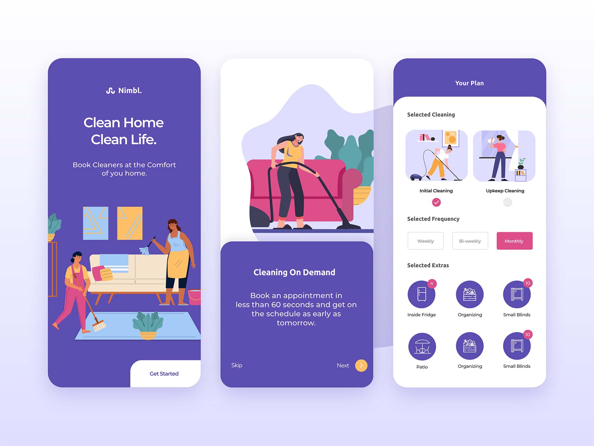 Home Cleaning App Template