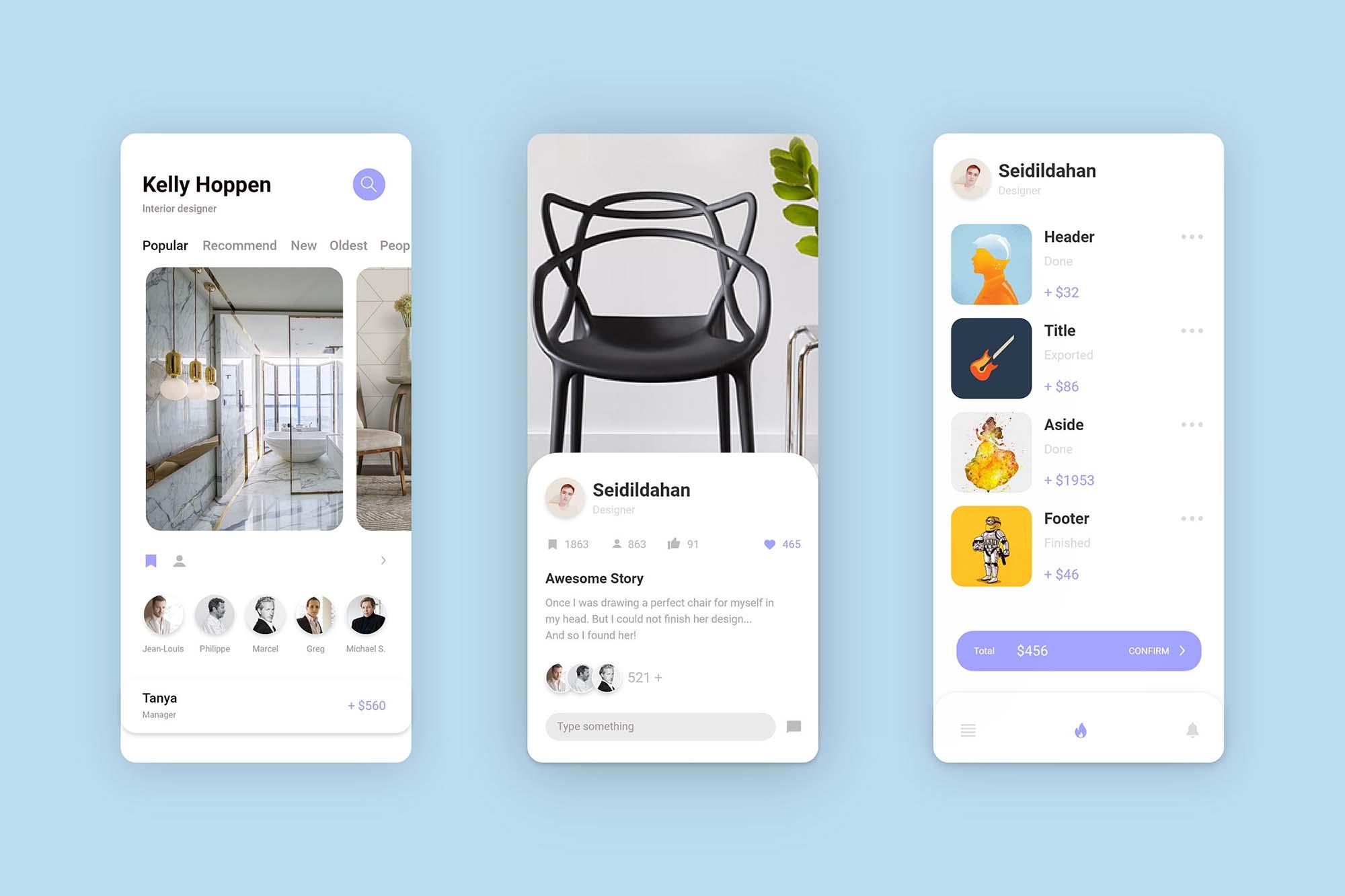 Interior Design App Template
