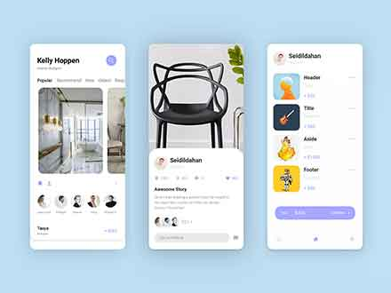 Interior Design App Template