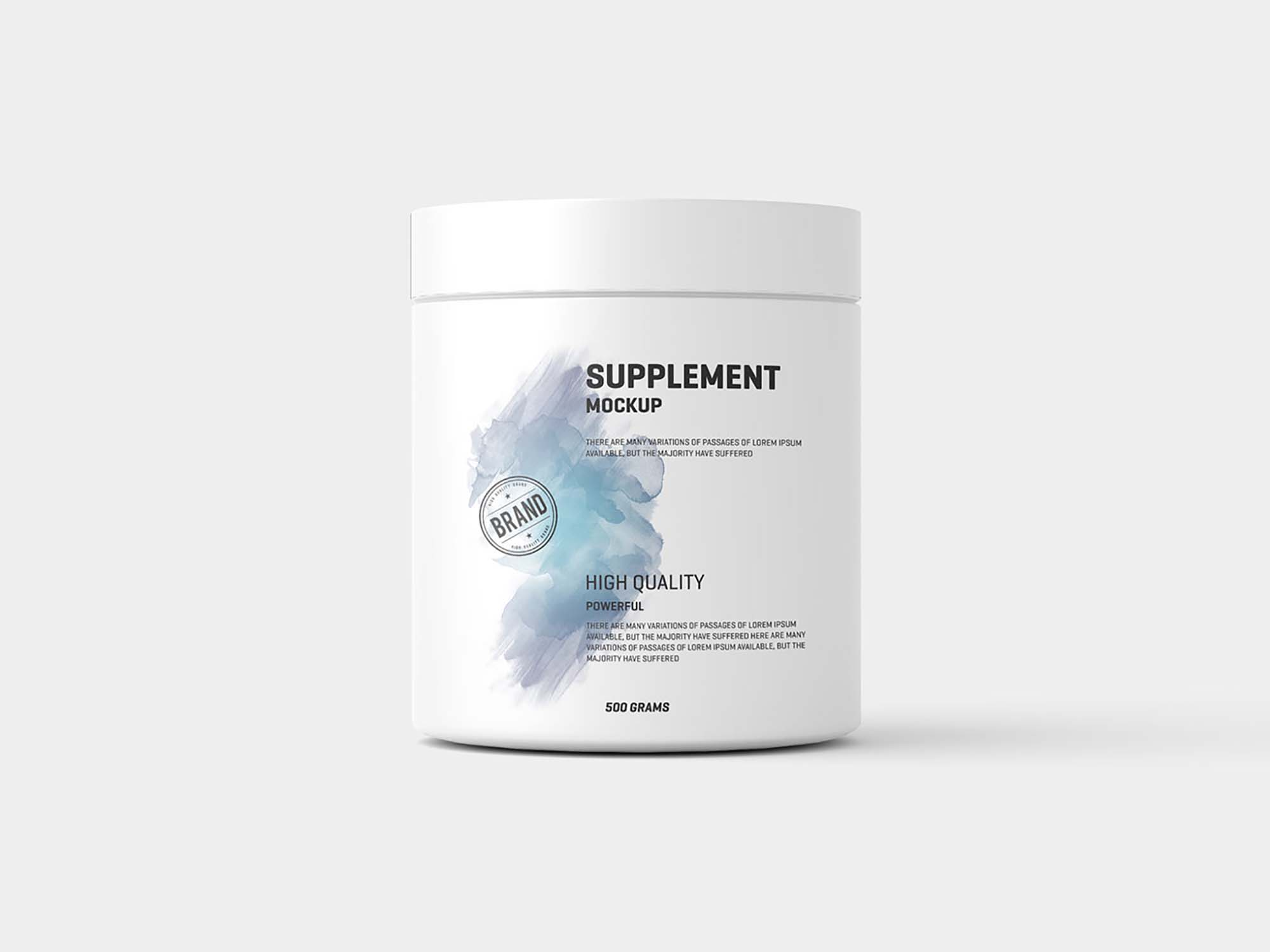 Jar Supplement Mockup 2