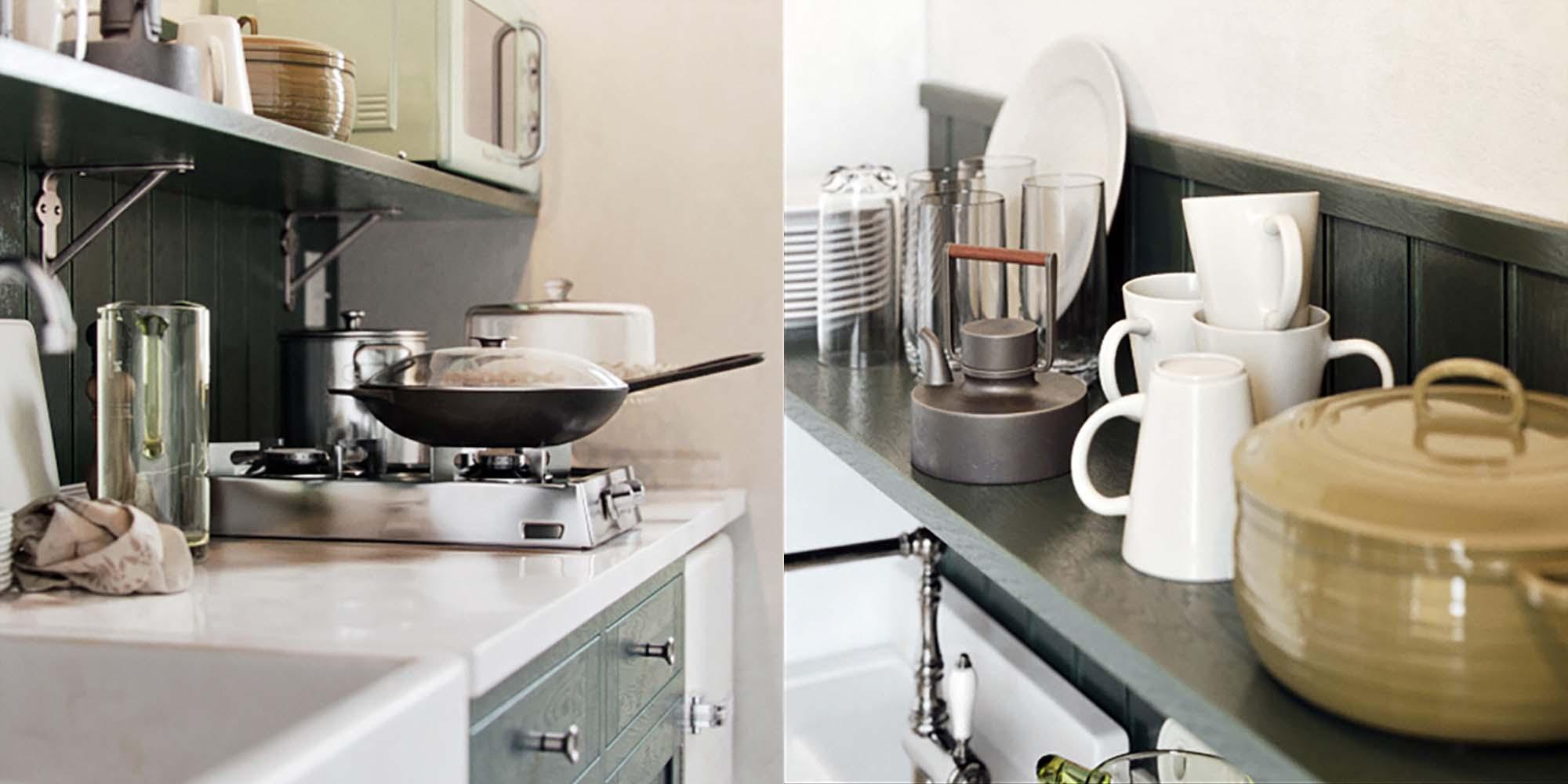 Kitchen Set 3D Models 2