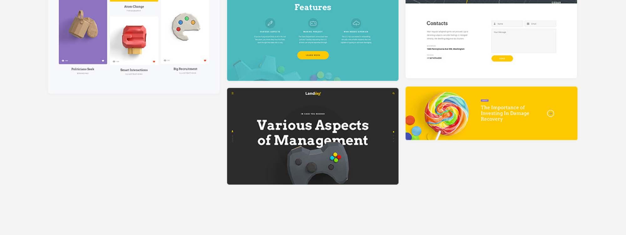 Landing Page UI Kit 14